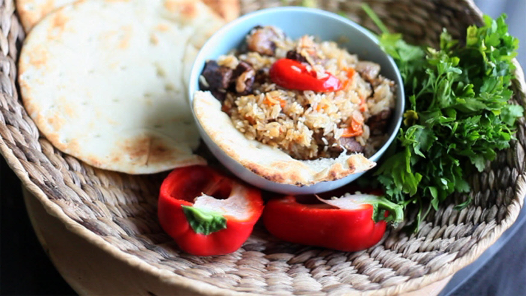 One-Pot Rice and Beef Pilaf nt_bella