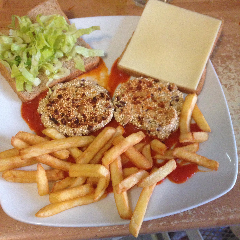 Quinoa Burgers Rhianna