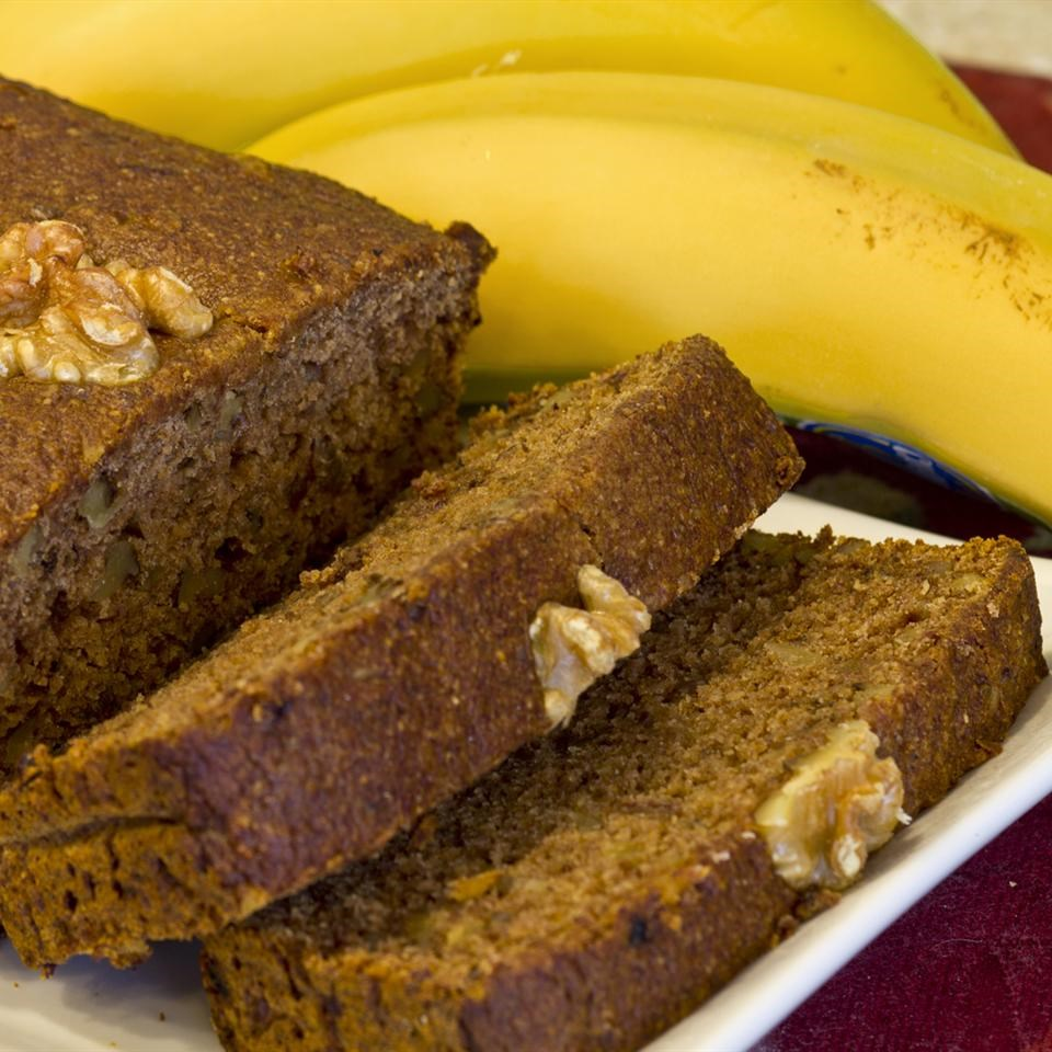 Gluten-Free Vegan Banana Nut Bread