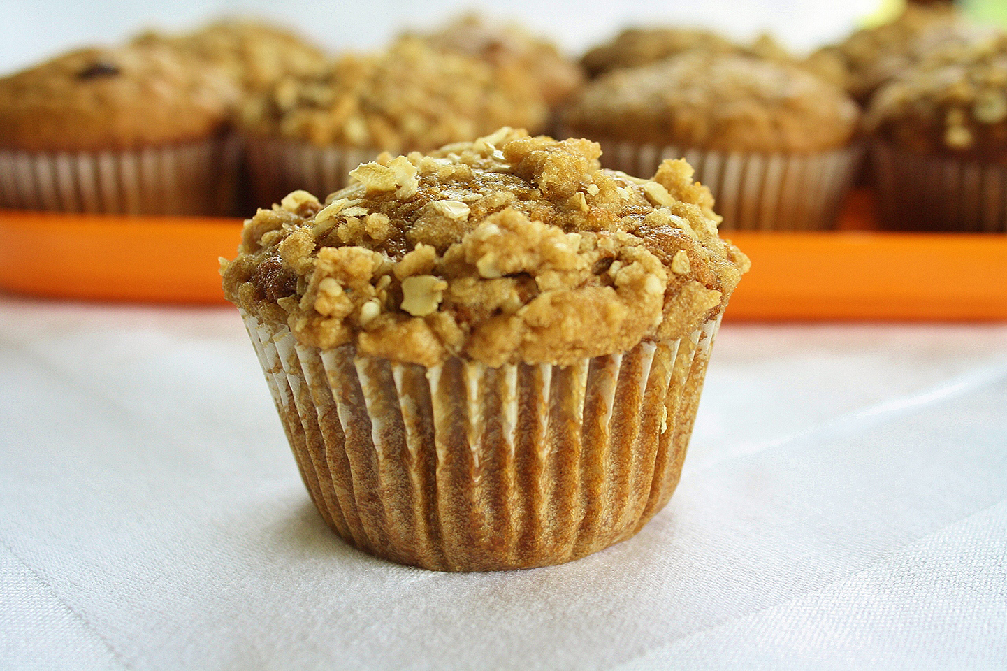 Pumpkin Muffins with Streusel Topping BRETTNSHARA