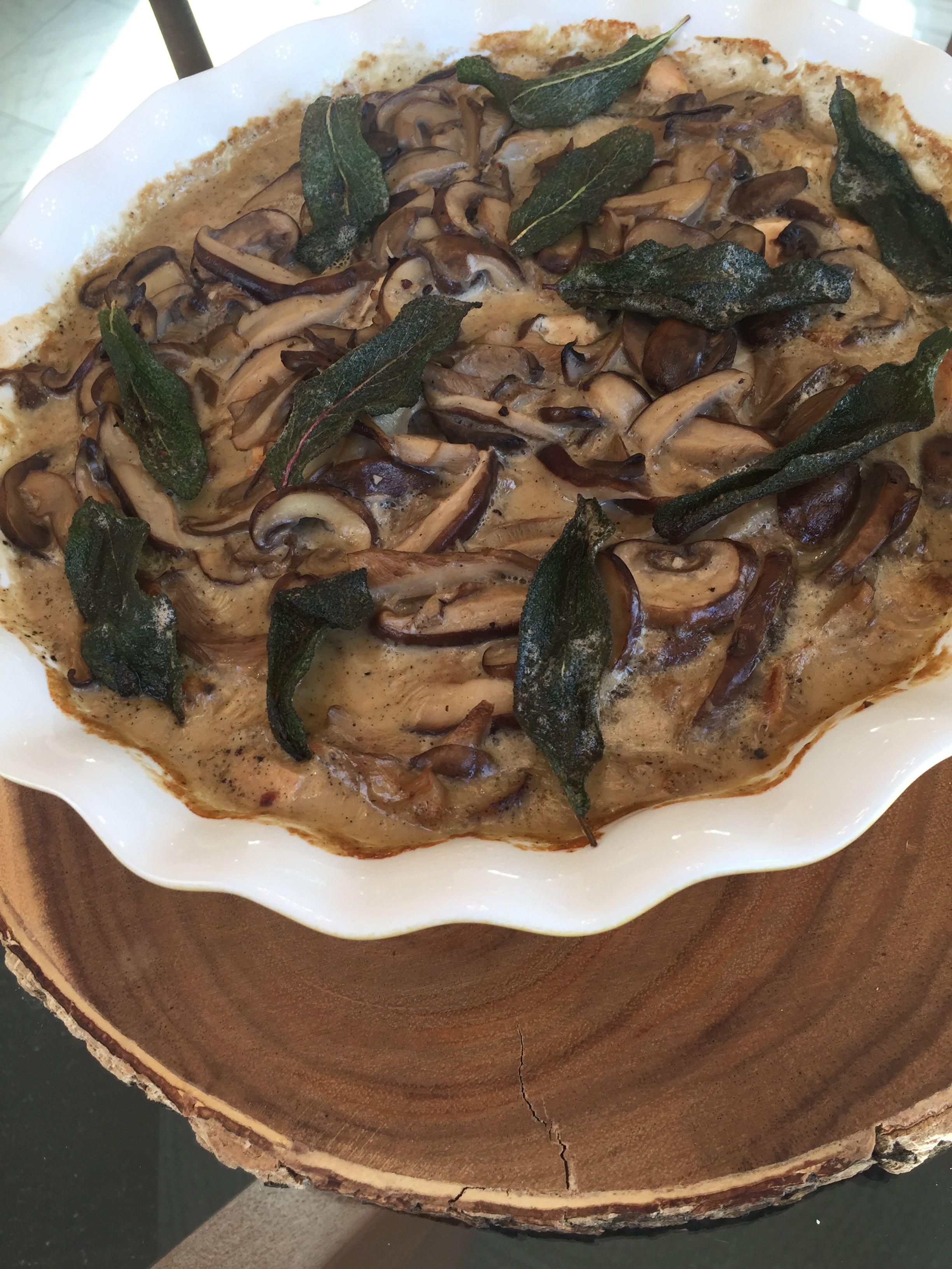 Delicious Chicken and Mushroom Casserole Nancy926