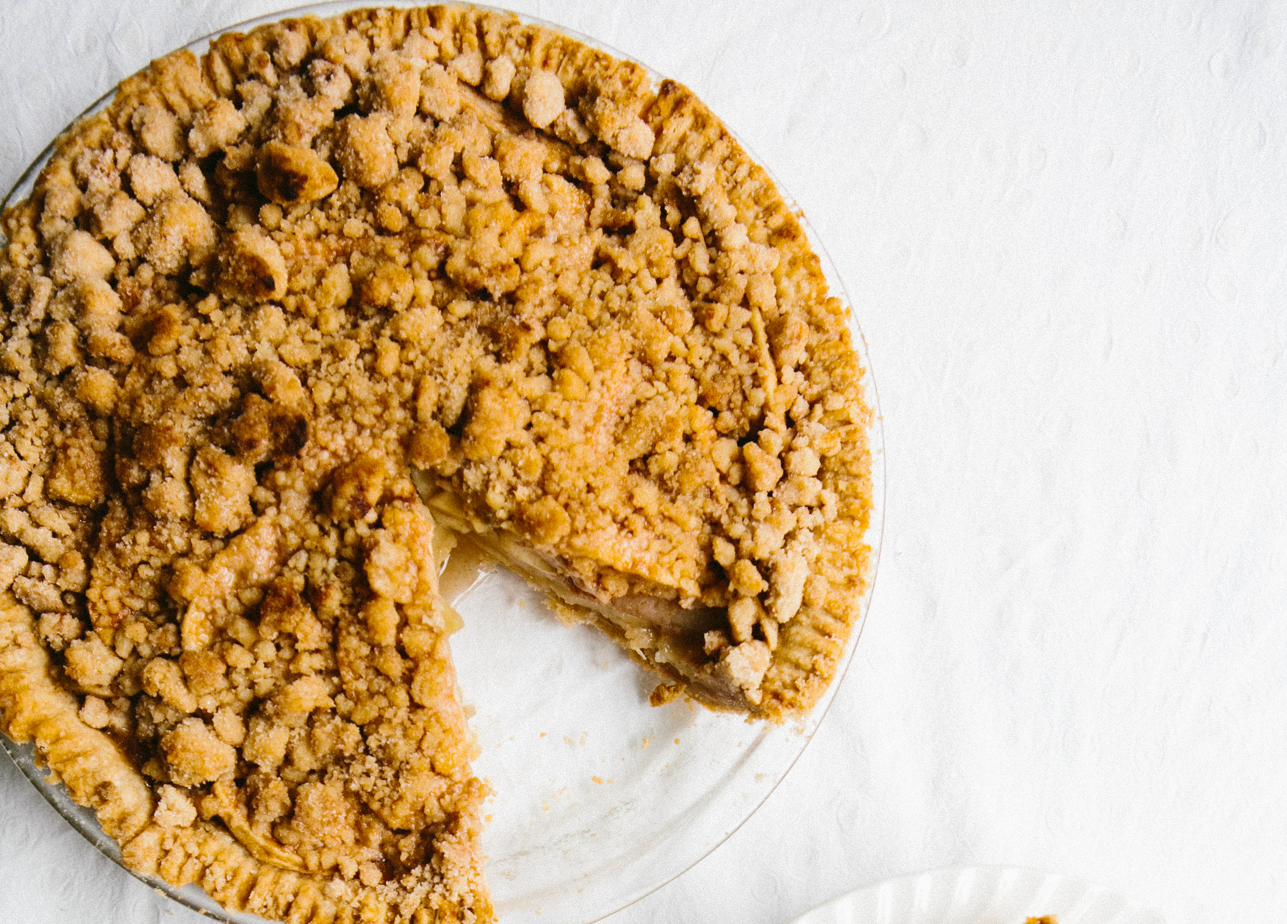 Snickerdoodle-Crusted Apple Pie
