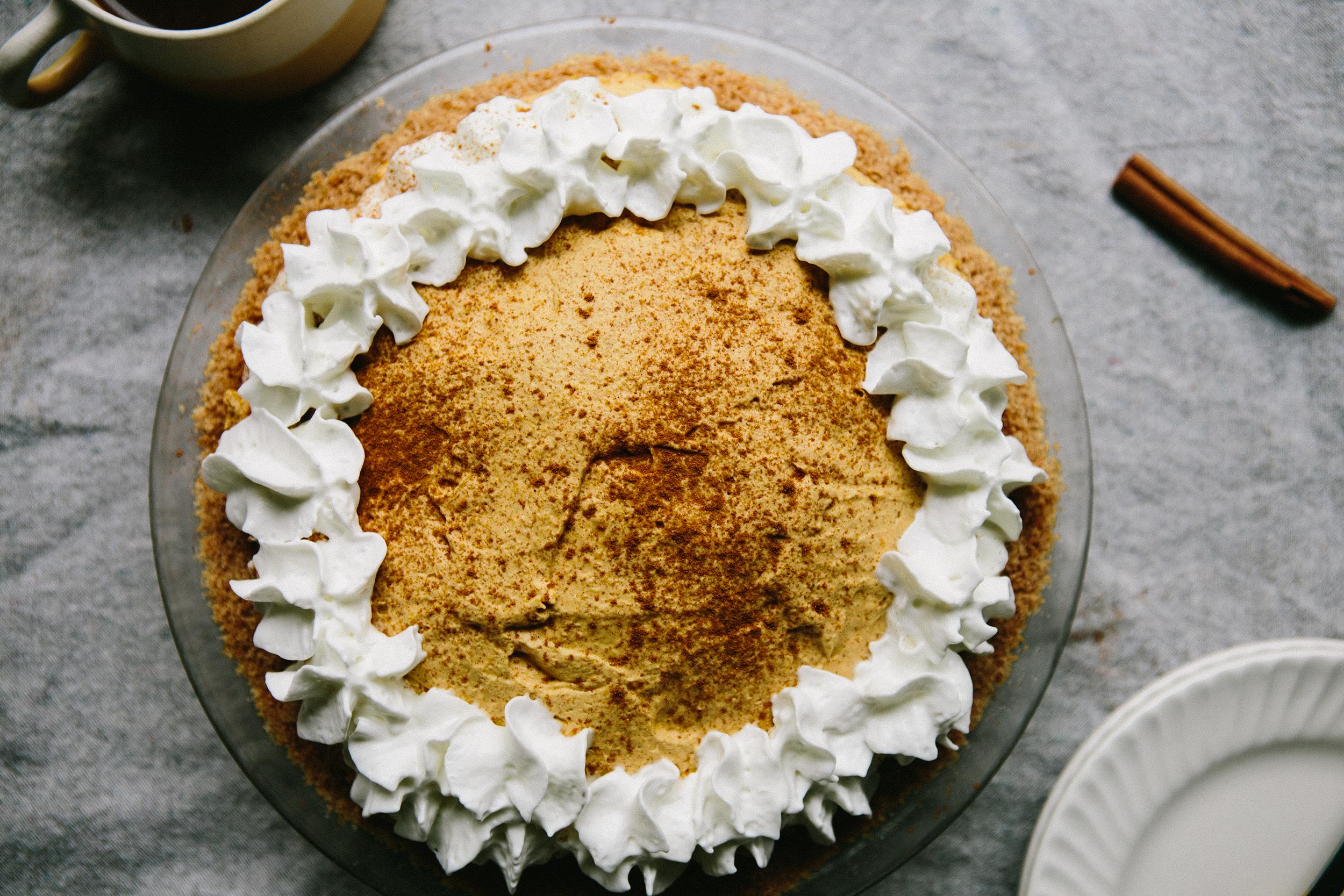Cinnamon Toast-Crusted Pumpkin Pie