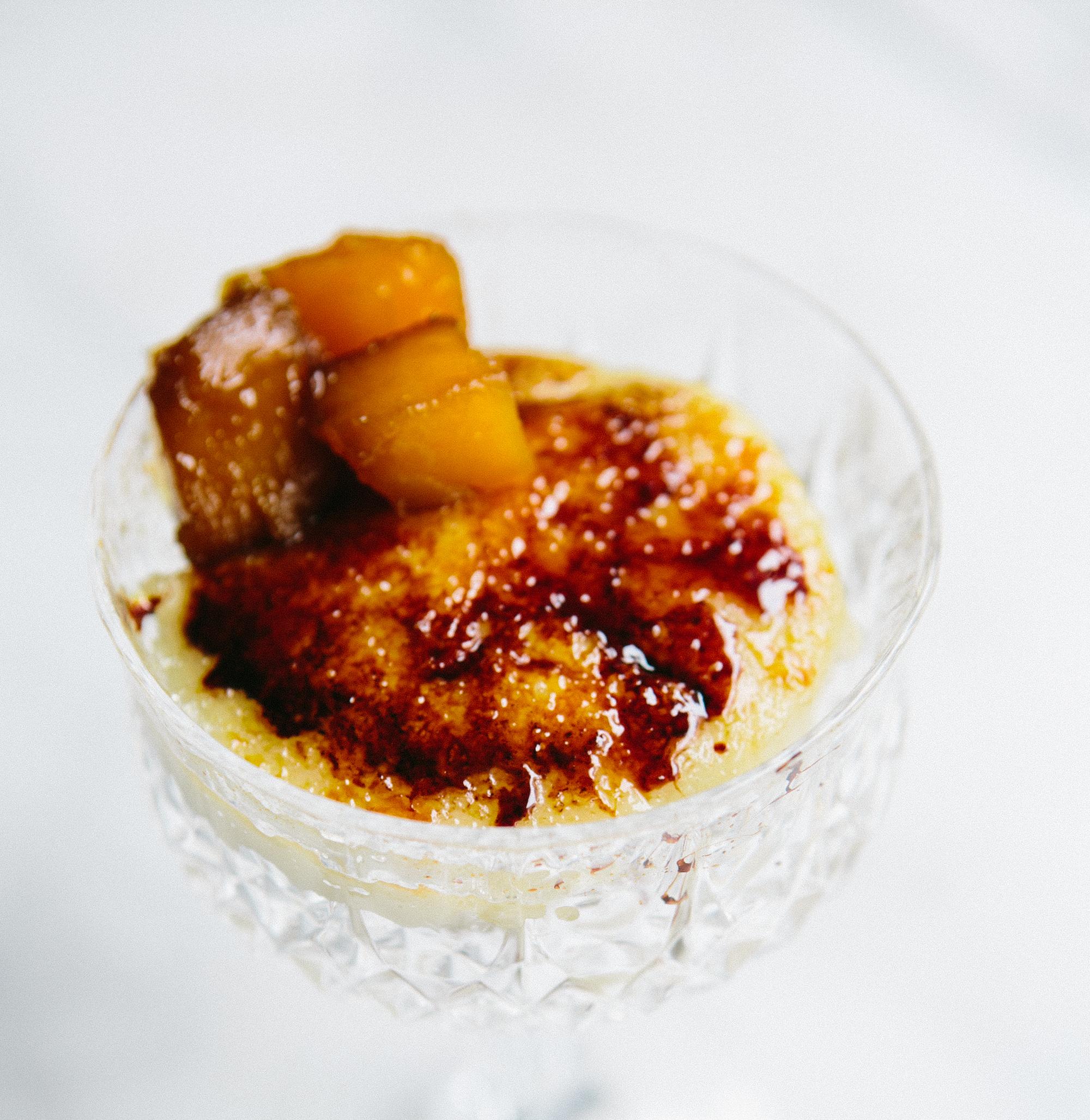 Cardamom Creme Brulee Parfait with Candied Pumpkin AllrecipesPhoto