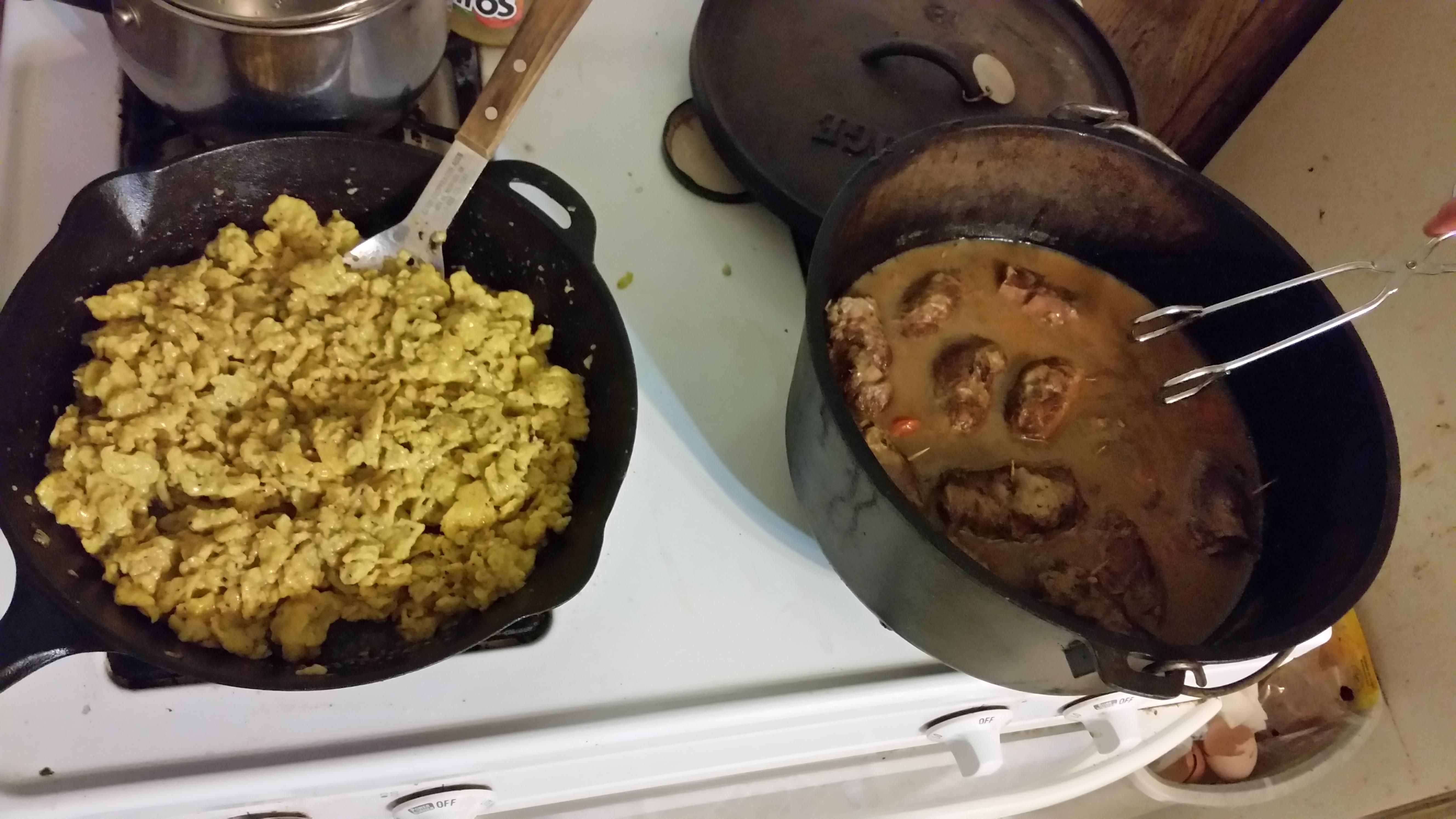 German Spaetzle Dumplings