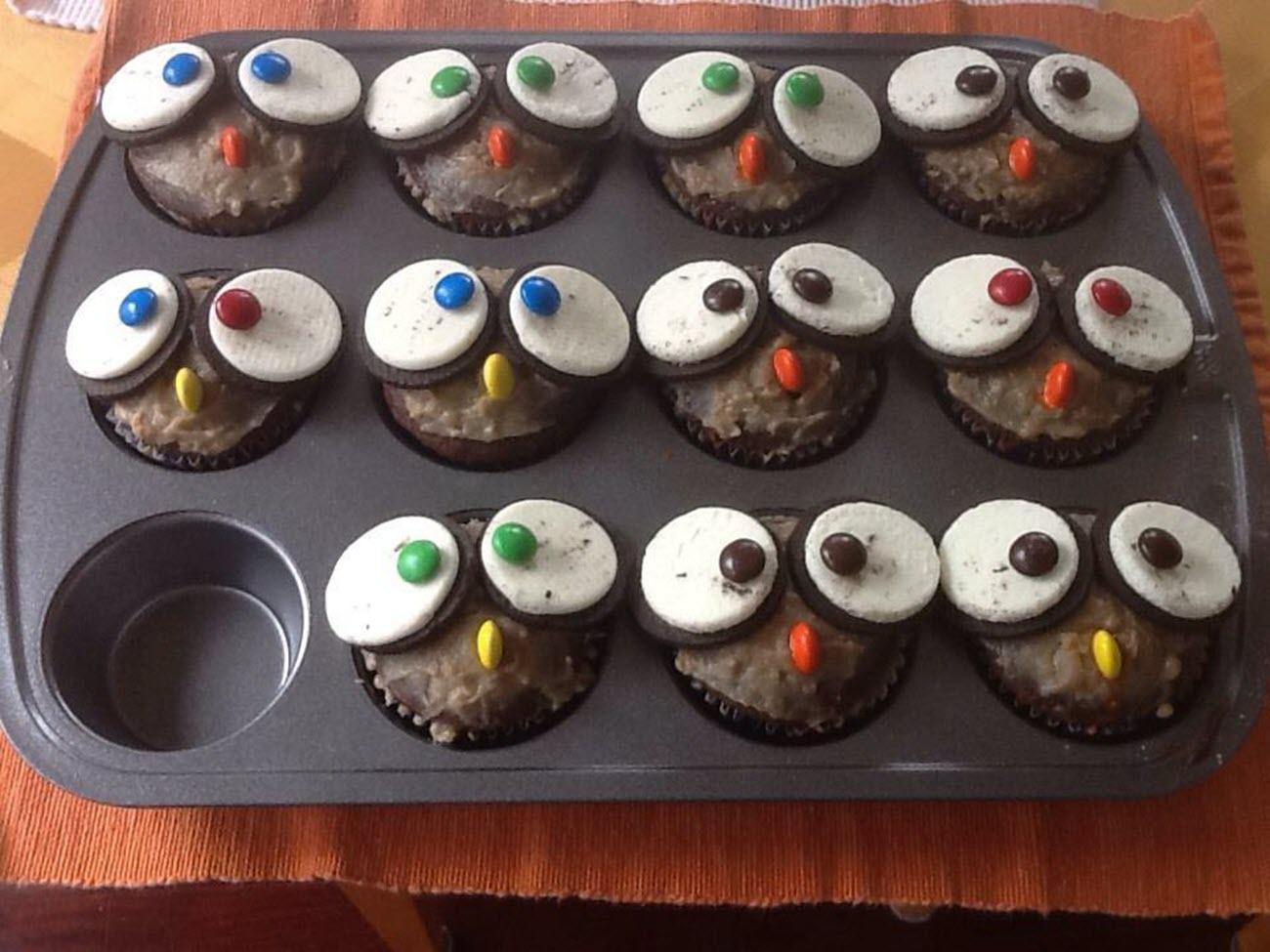 Owl Cupcakes Alemarsi