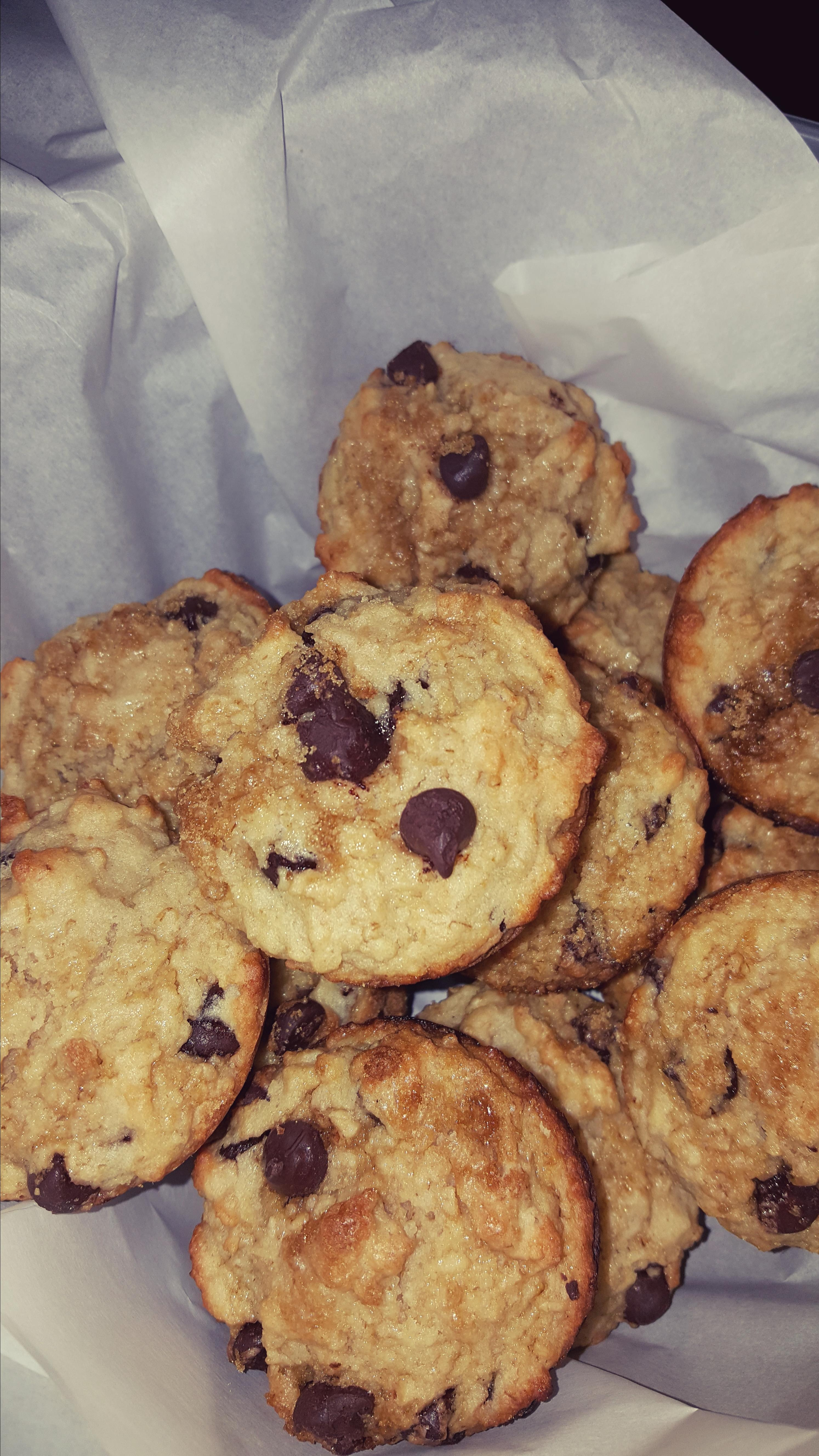 Oatmeal Chocolate Chip Muffins Buzzy Jordan