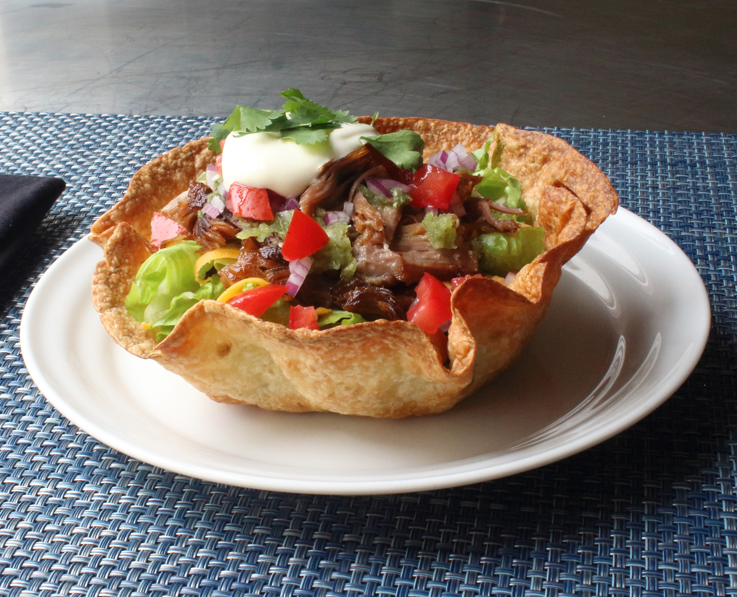 Crispy Basket Burritos Baked Tortilla Bowls Allrecipes