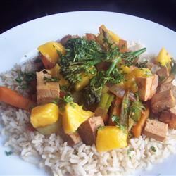 Zippy Tofu Stir-Fry Sarah-May