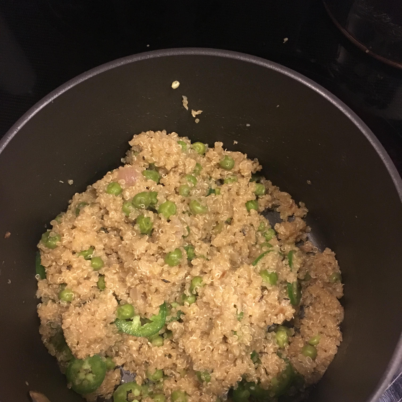 Quinoa with Peas Doreen