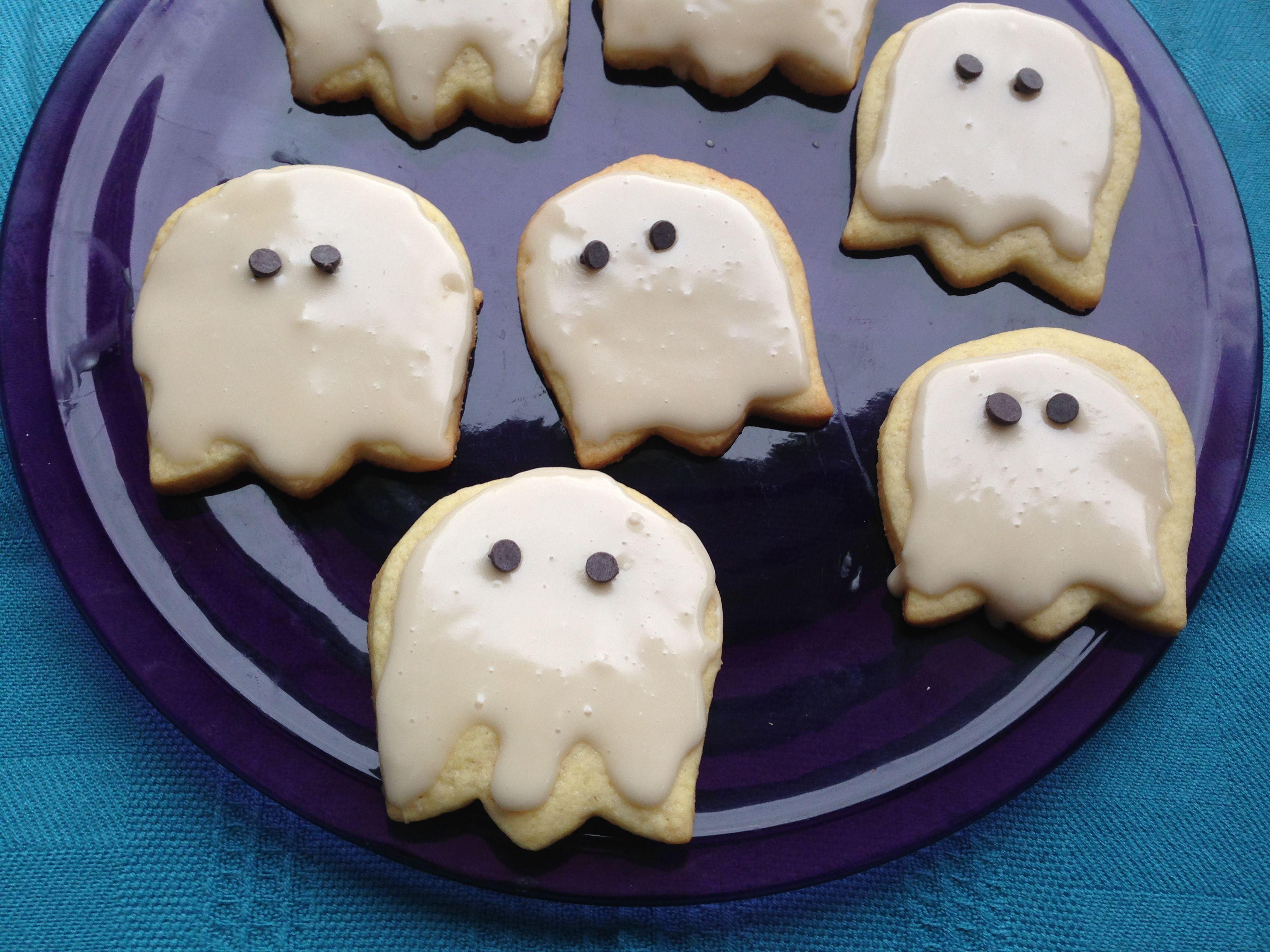 Halloween Ghost Cookies