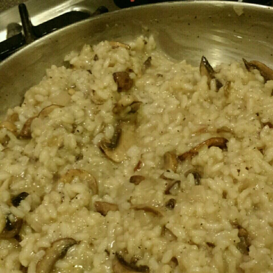 Baked Wild Mushroom Risotto Cindy Rodgers Devlin