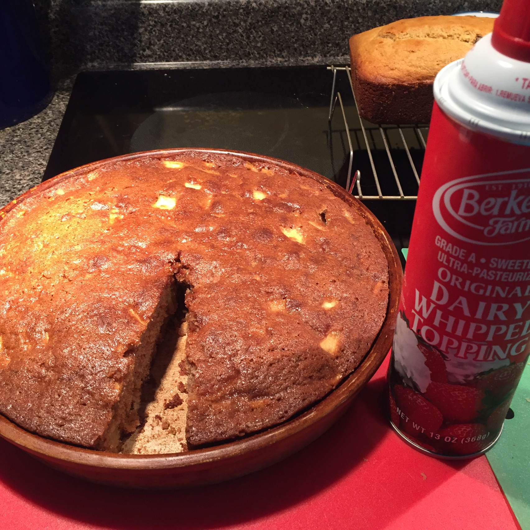Mom's Prize Winning Raw Apple Cake