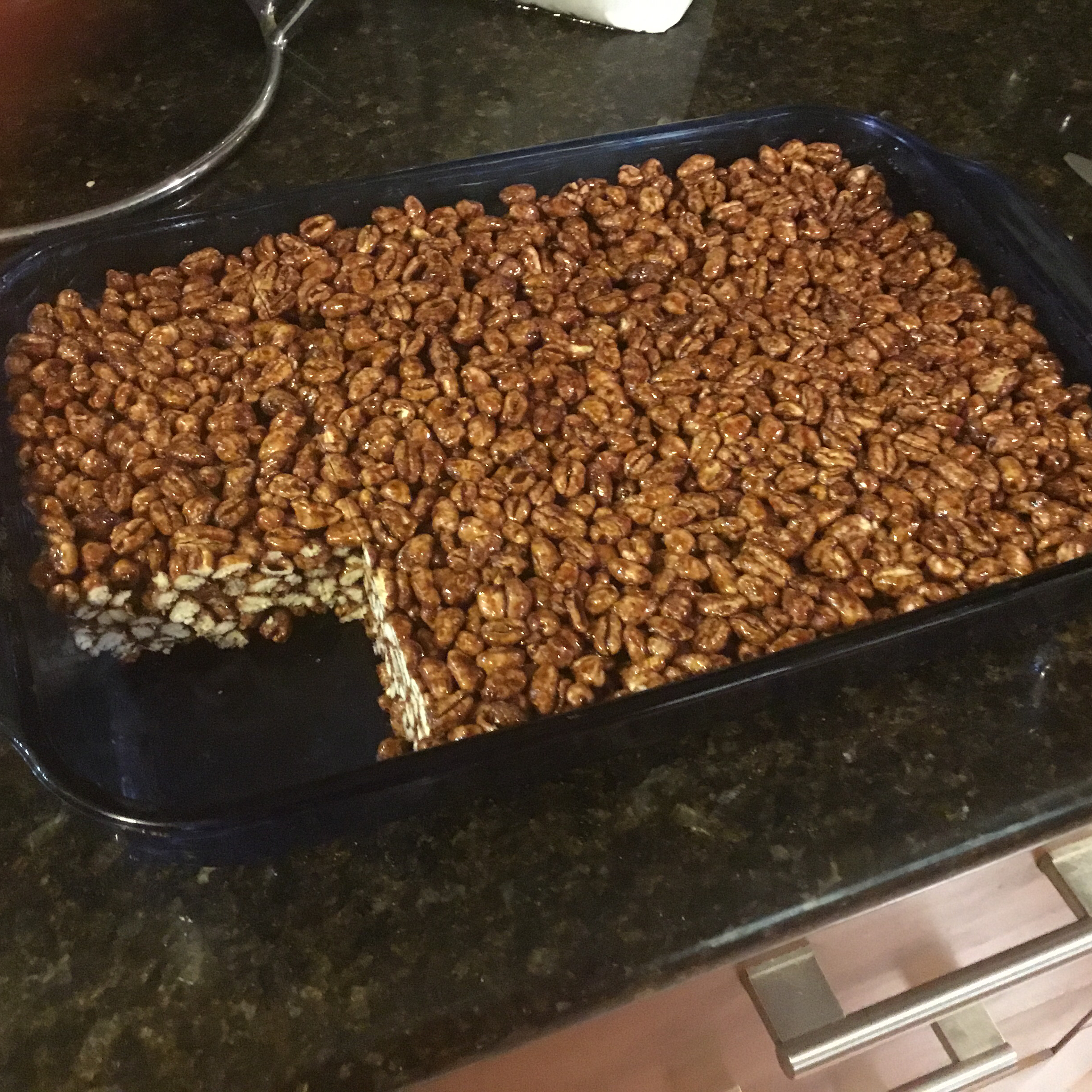 Cafe-Style Puffed Wheat Squares