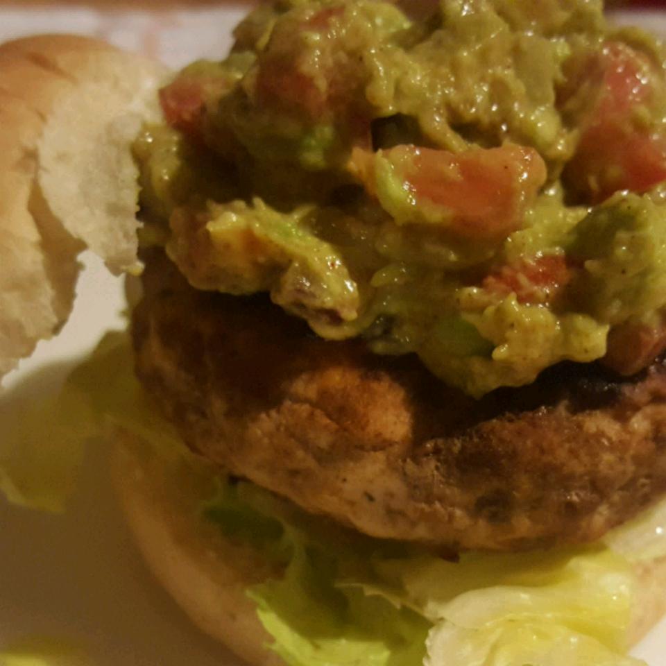 Guacamole Turkey Burger