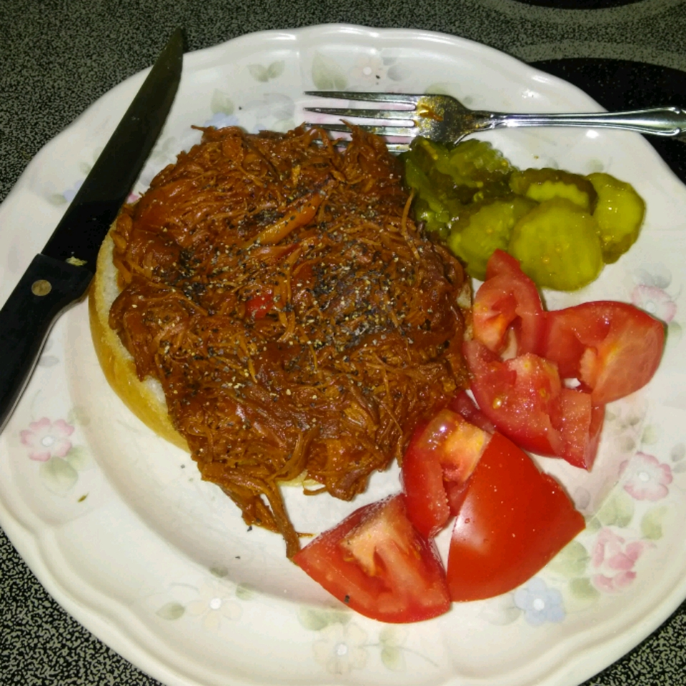 Shredded Barbeque Chicken