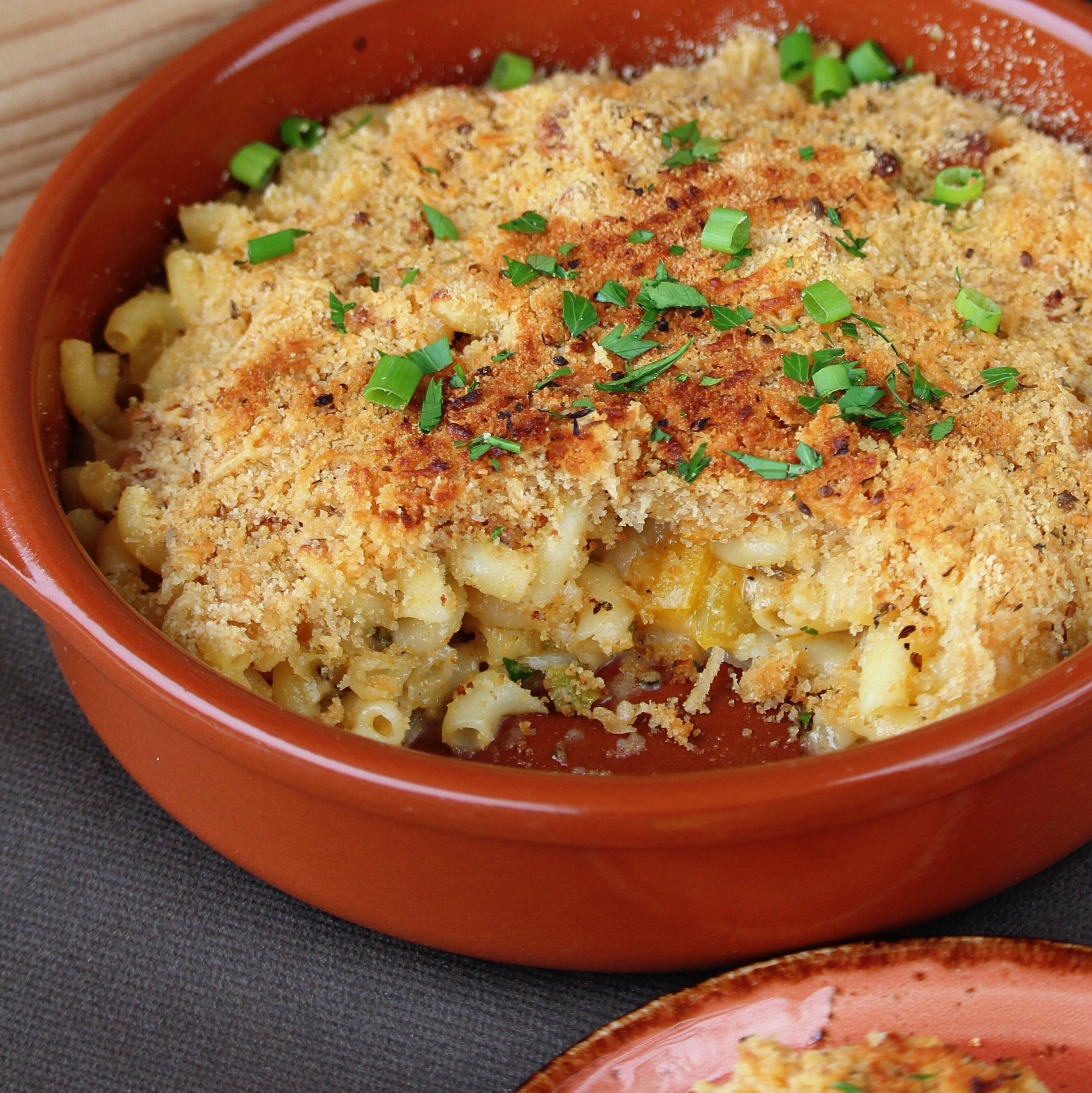 Macaroni and Peppers in White Sauce Buckwheat Queen
