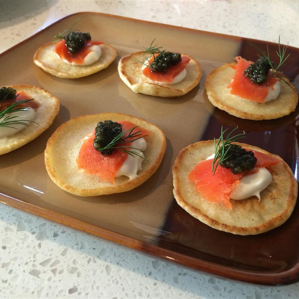 Easy Blini (Russian Pancake)