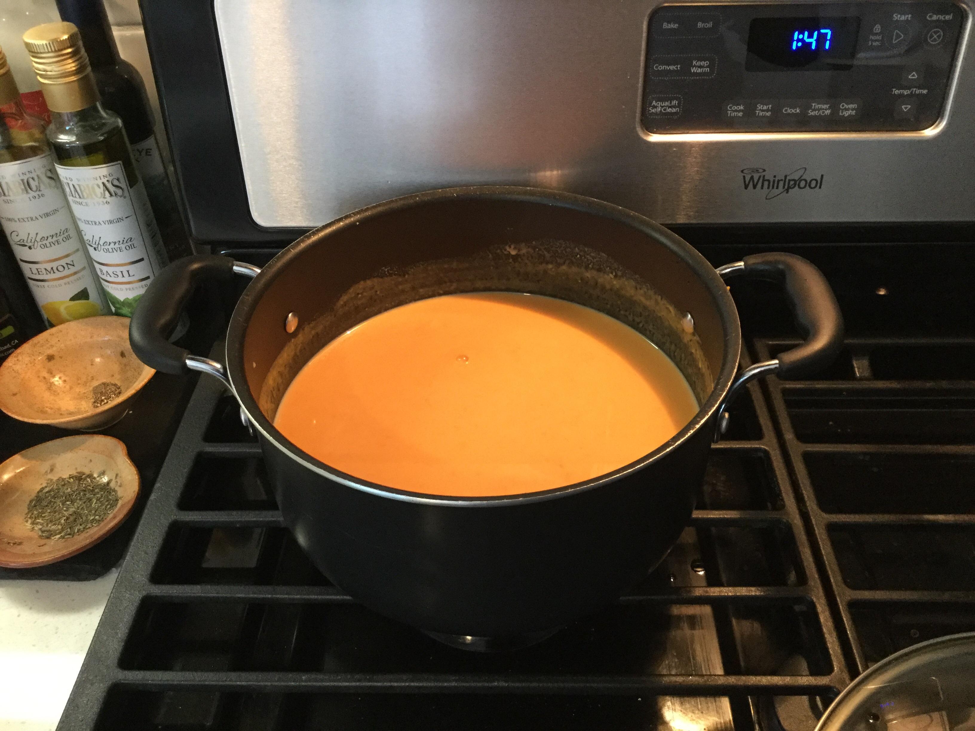 Simple Sweet Potato Soup Sheila