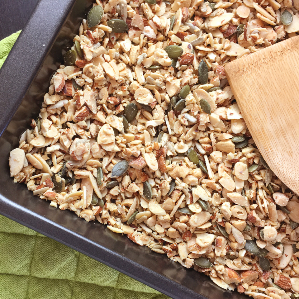 Easy Grain-Free Nutty Granola