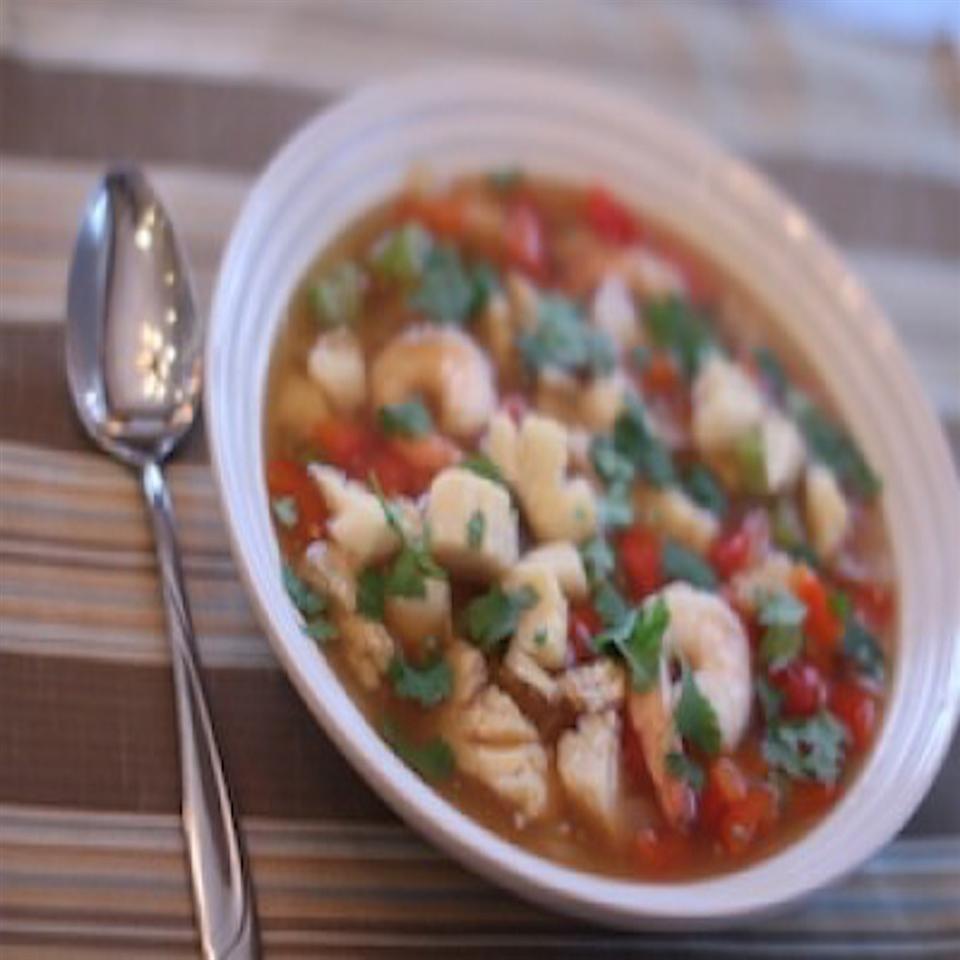 Paleo Seafood Chili