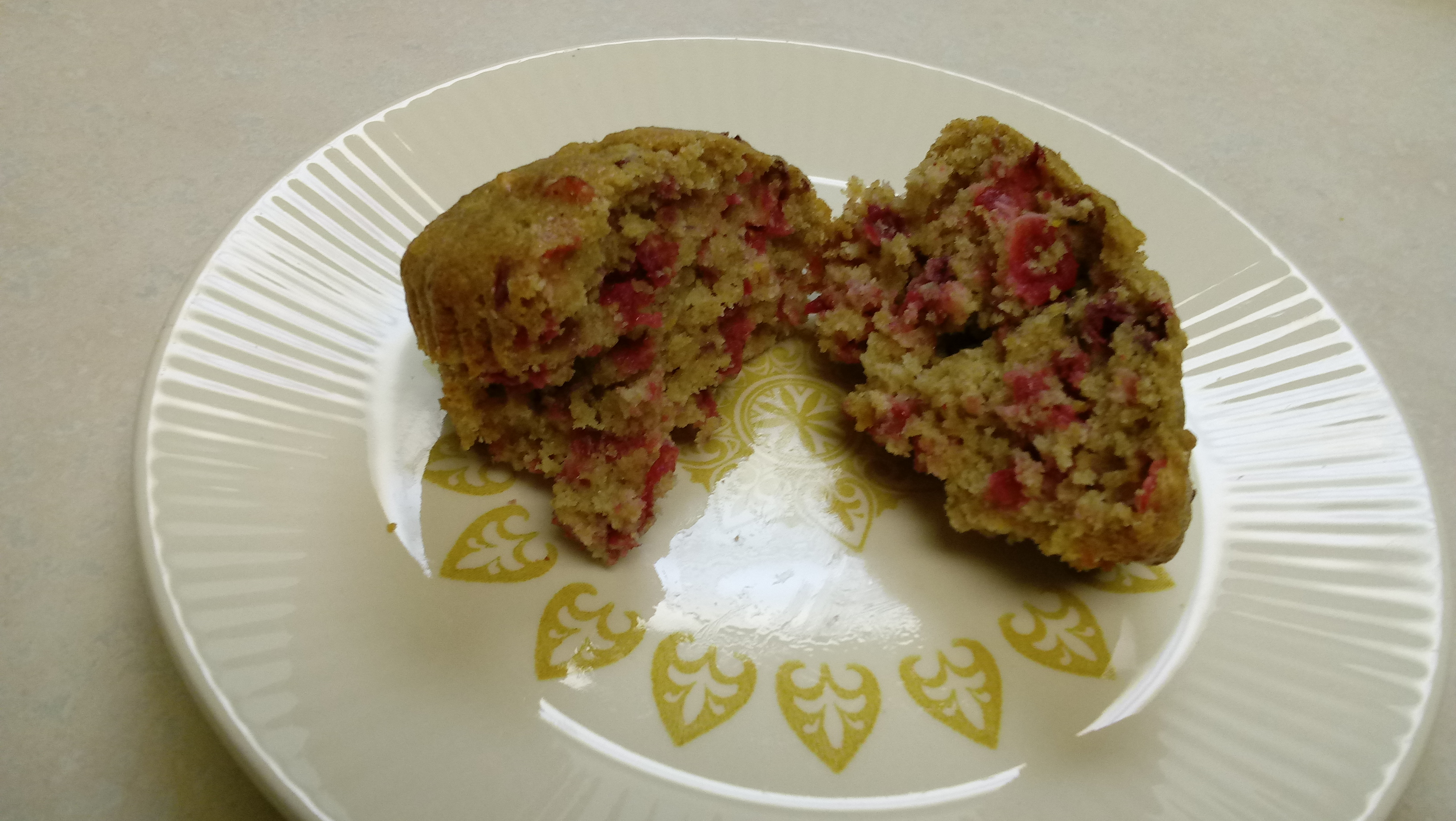 Cranberry Orange Muffins with Truvia® Baking Blend Novicecook
