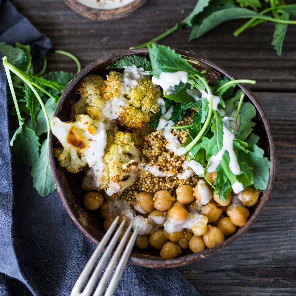 Grain Bowl with Chickpeas & Cauliflower Trusted Brands