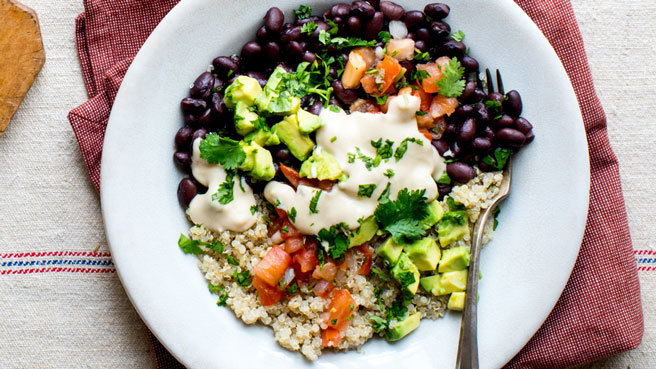 Black Bean-Quinoa Buddha Bowl Trusted Brands