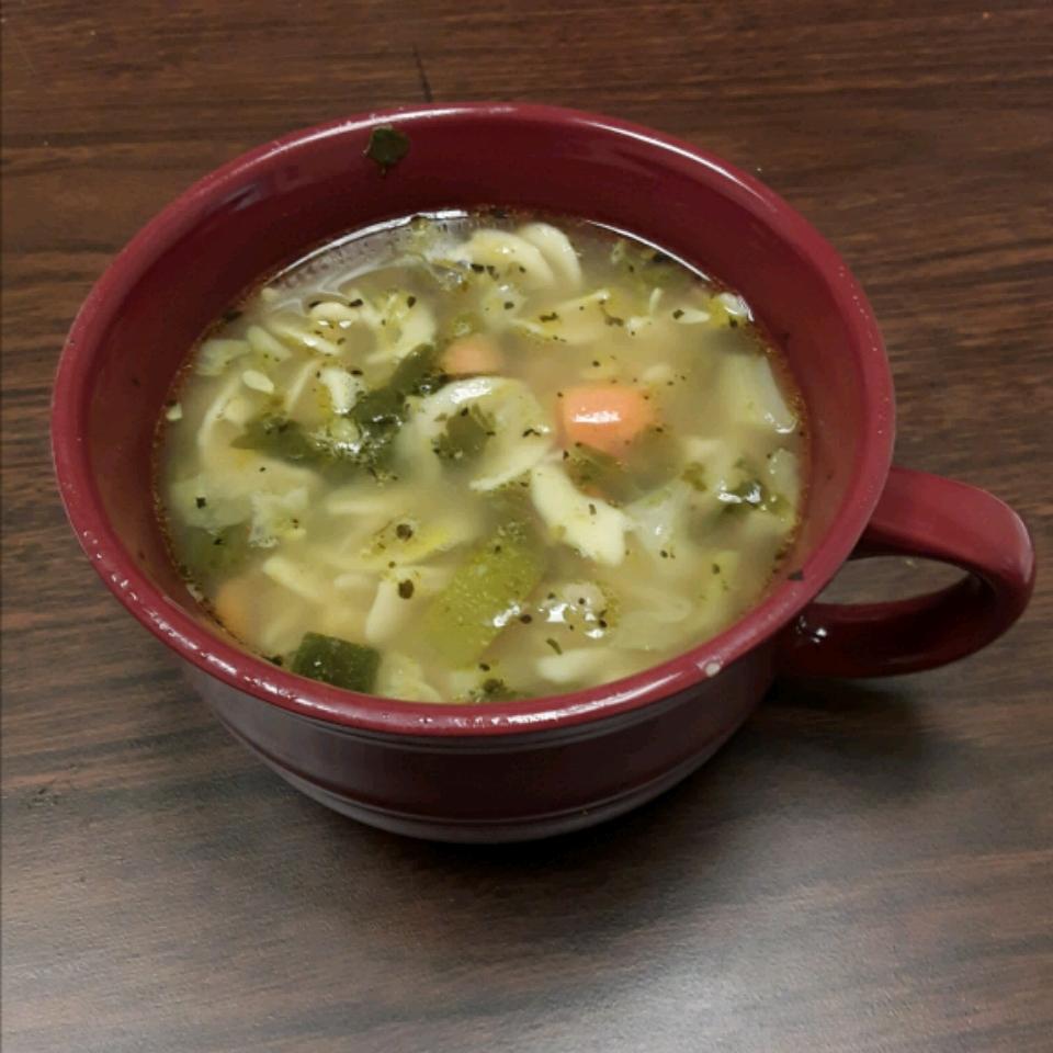 Spring Vegetable Soup bluzsgirl