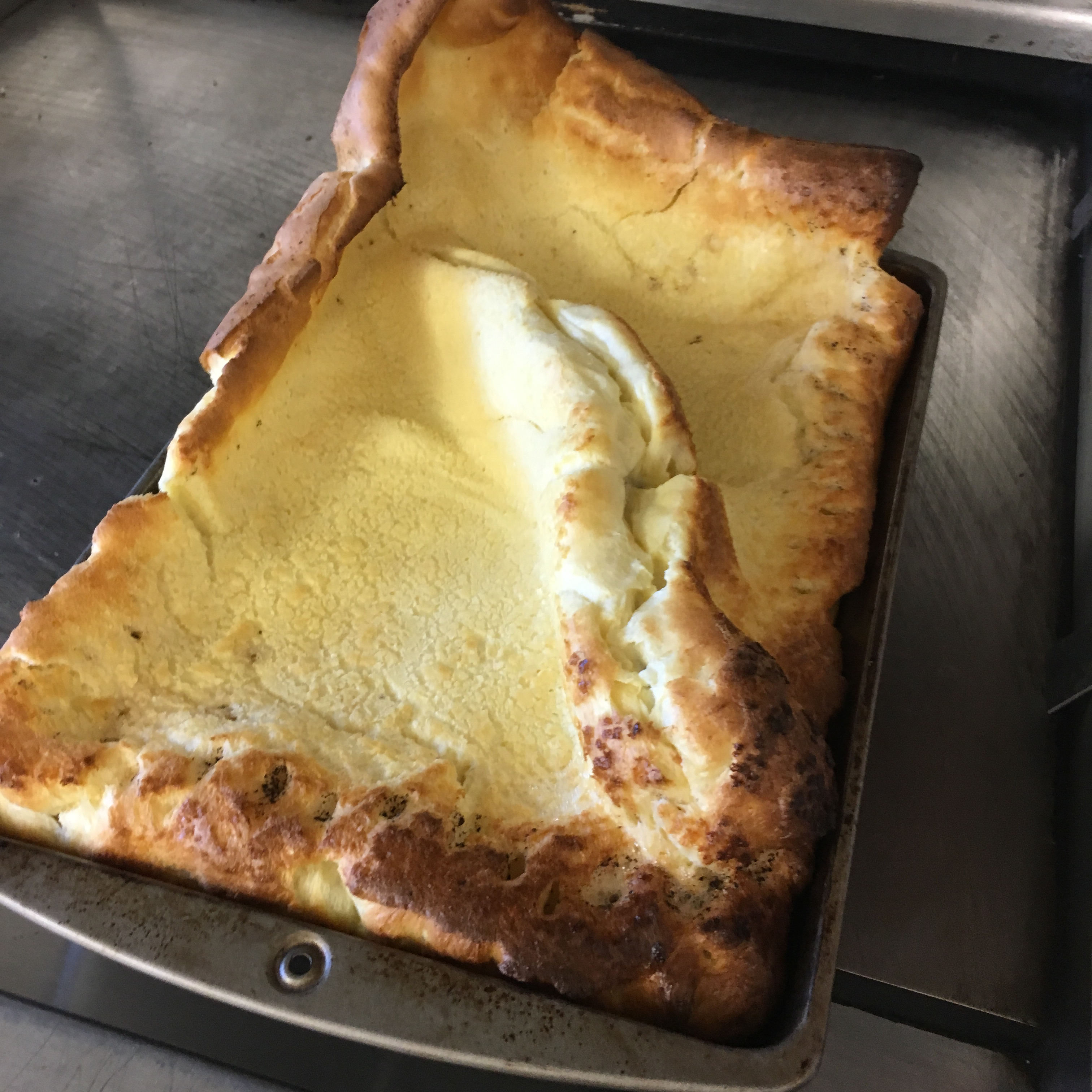 German Pancake with Buttermilk Sauce LilacShadow1584