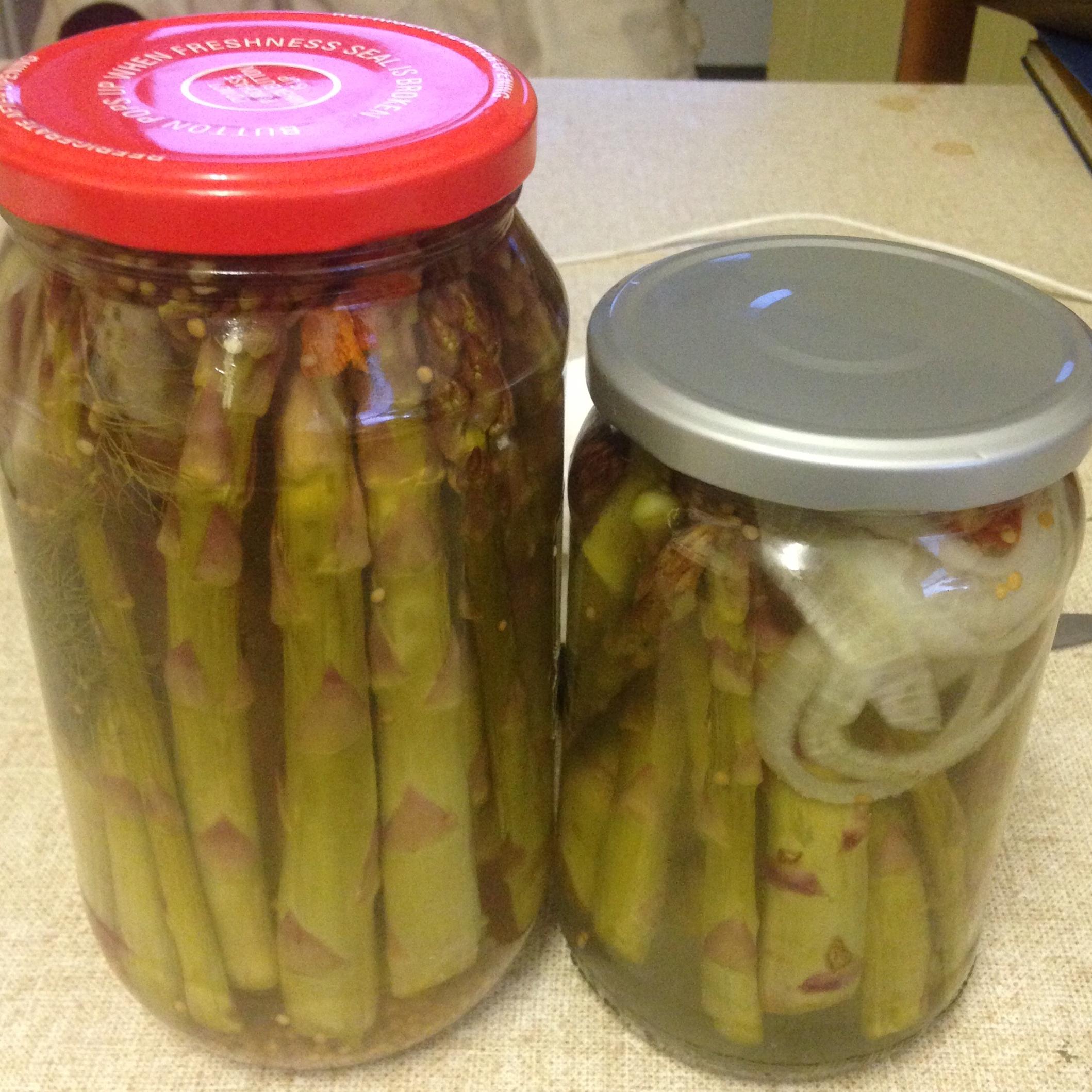 Pickled Asparagus II Diamond Seka
