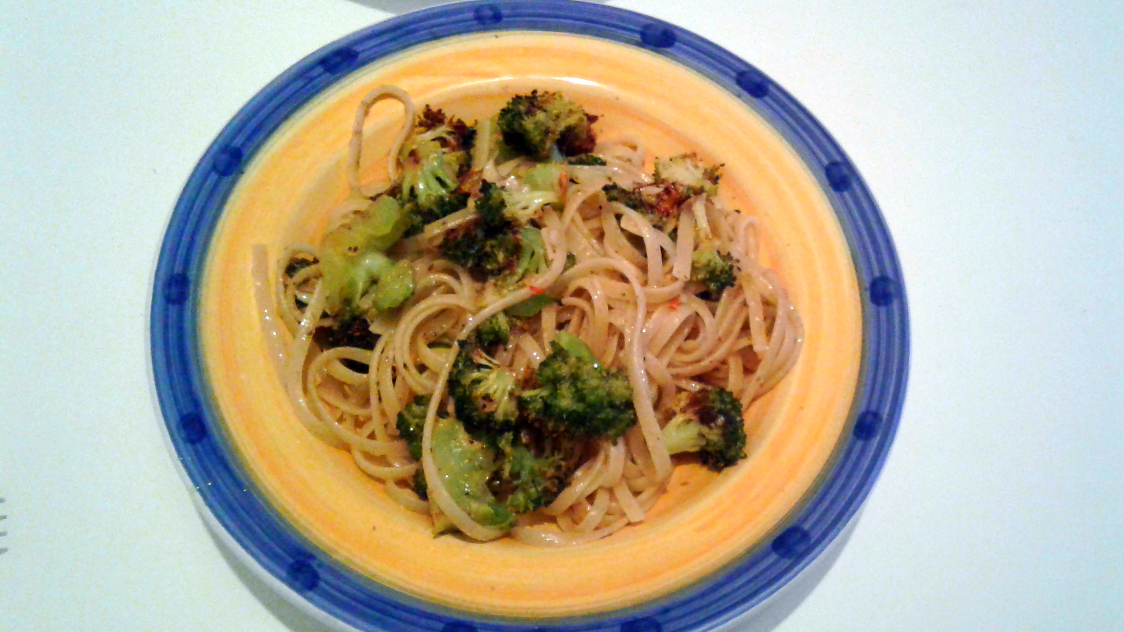 Spicy Pasta with Broccoli, Anchovy, and Garlic Stephen Van Houten