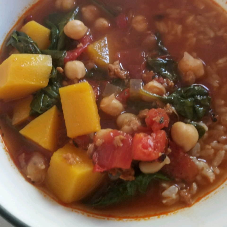 Easy Chourico Soup