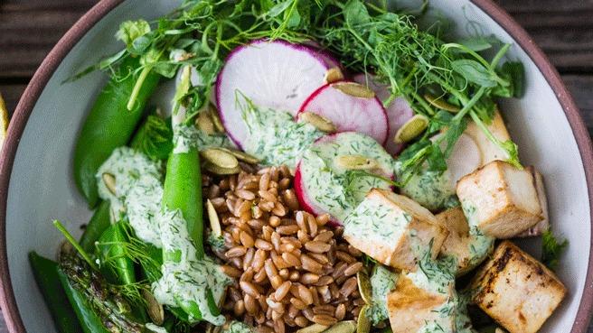 Green Goddess Grain Bowl Trusted Brands