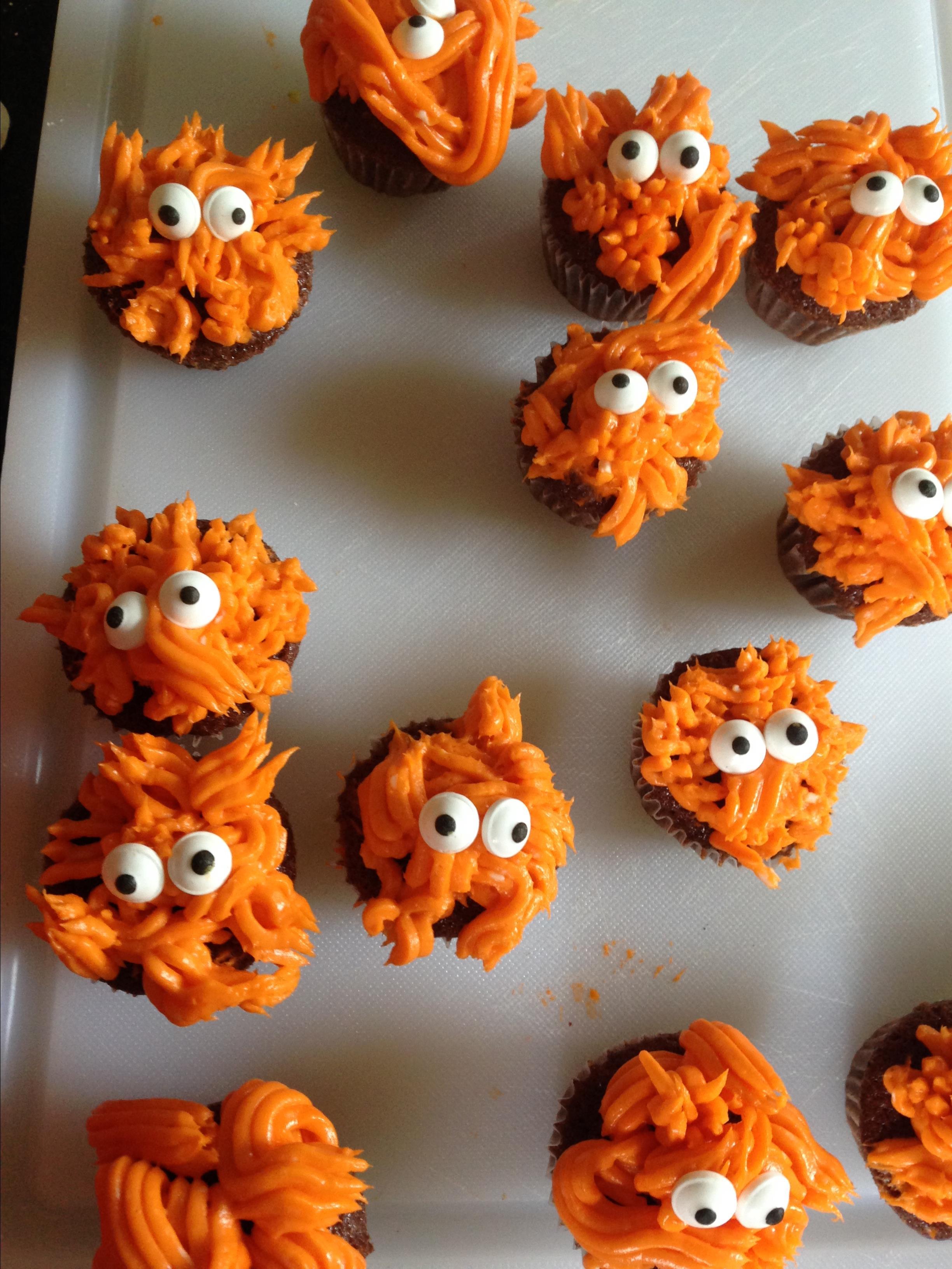 Monster Mini Cupcakes barbara
