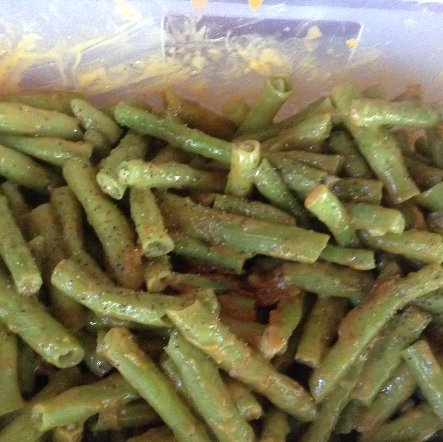 Peanutty Green Beans