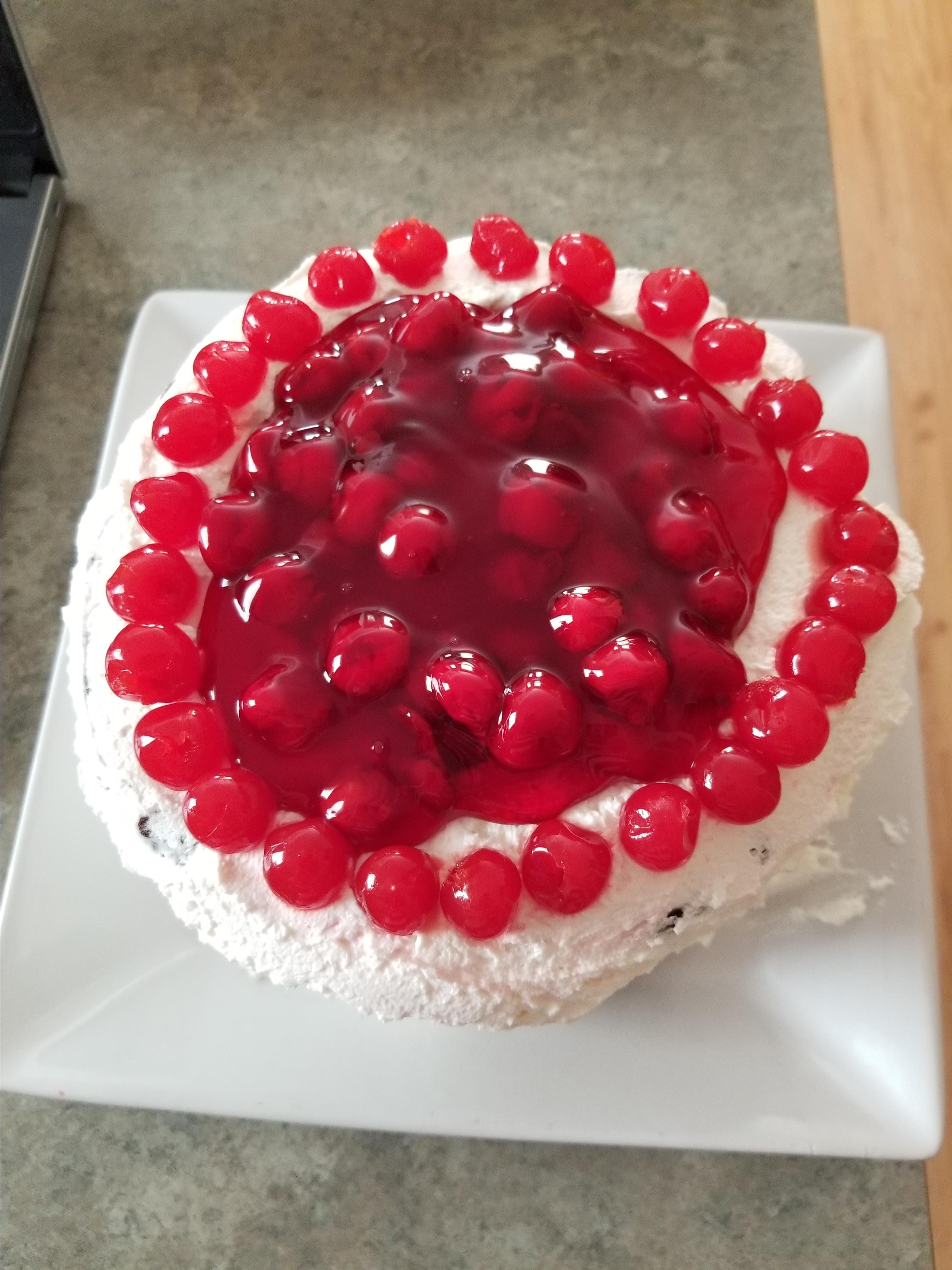 Pretty Much a Piece of Heaven  Black Forest Cake Gerri Burge