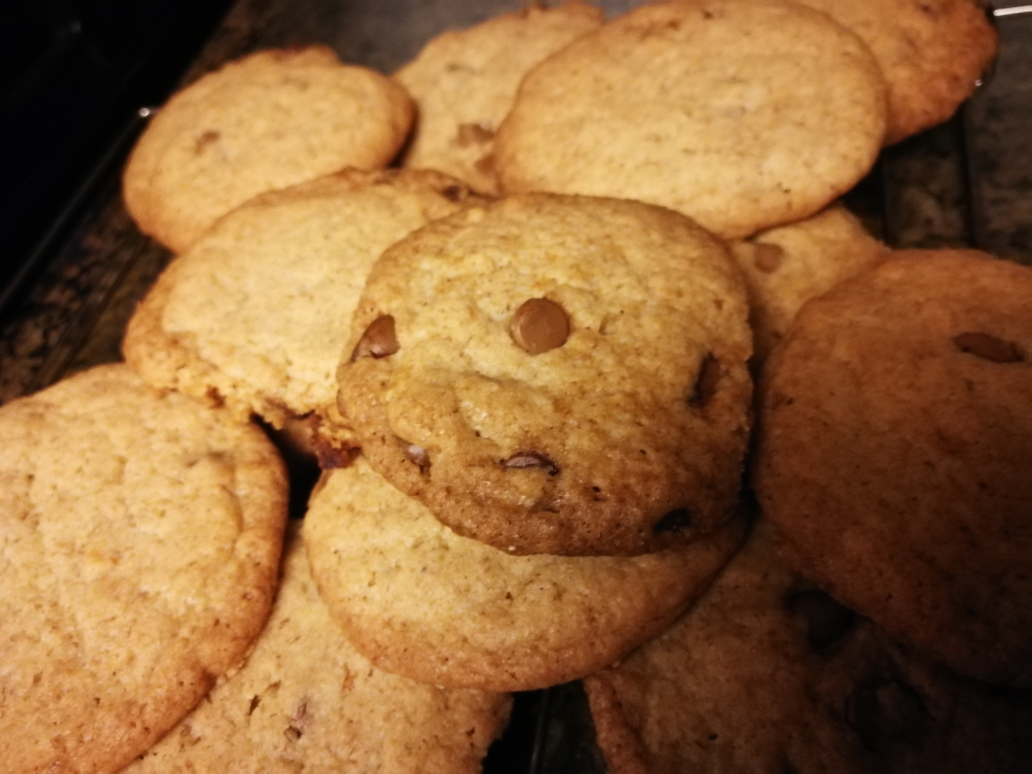 Whole-Wheat Chocolate Chip Cookies