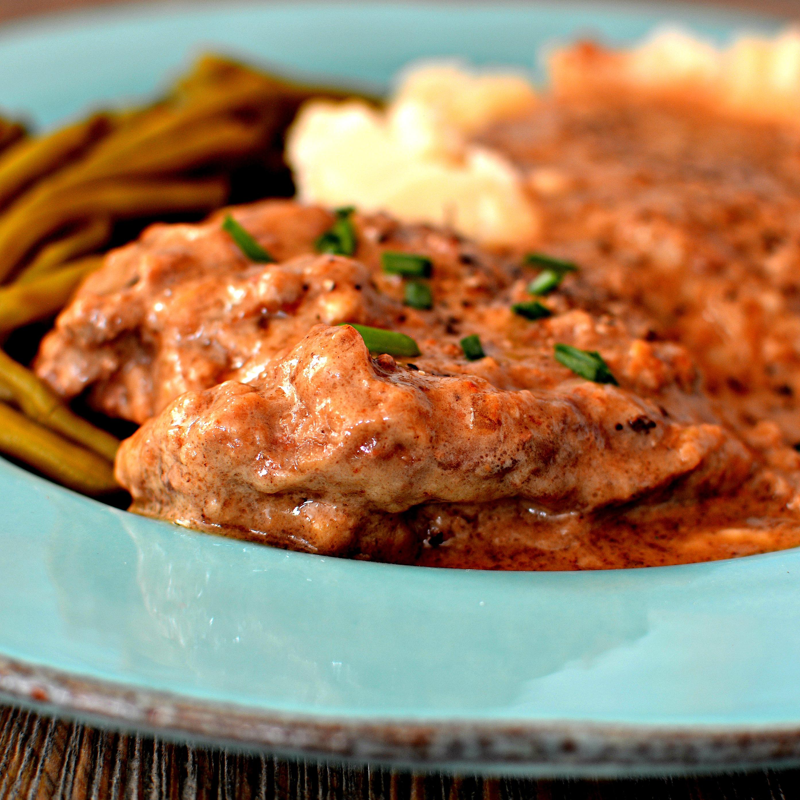 Round Steak and Gravy