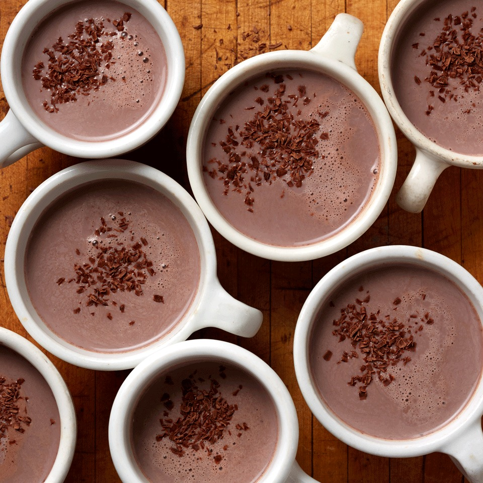 Red-Wine Hot Chocolate Carolyn Casner