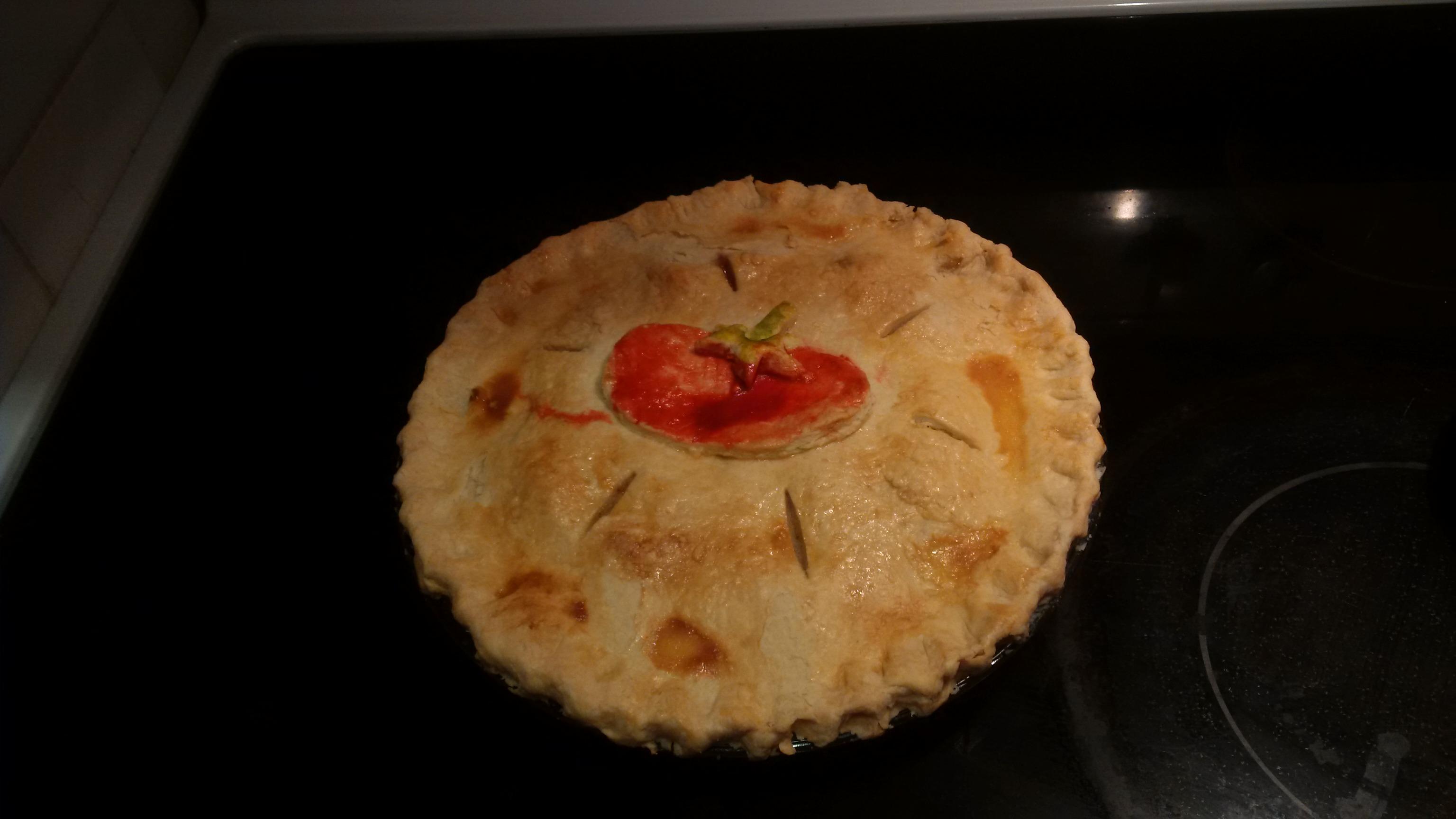 Green Tomato Pie IV Chriskasurak