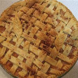 Honey Peach Pie