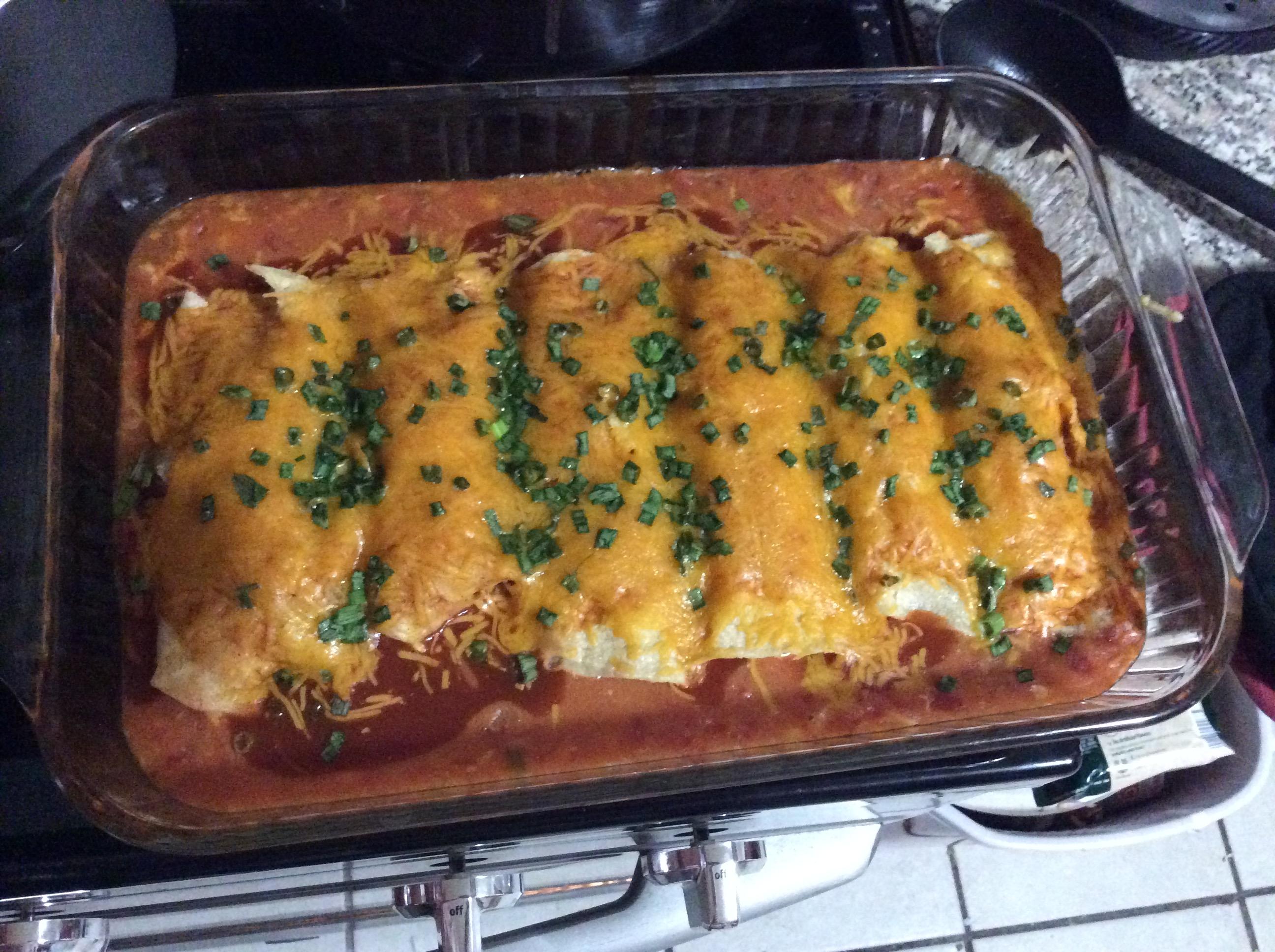 Gerry's Chicken Enchiladas Stacy Sutton