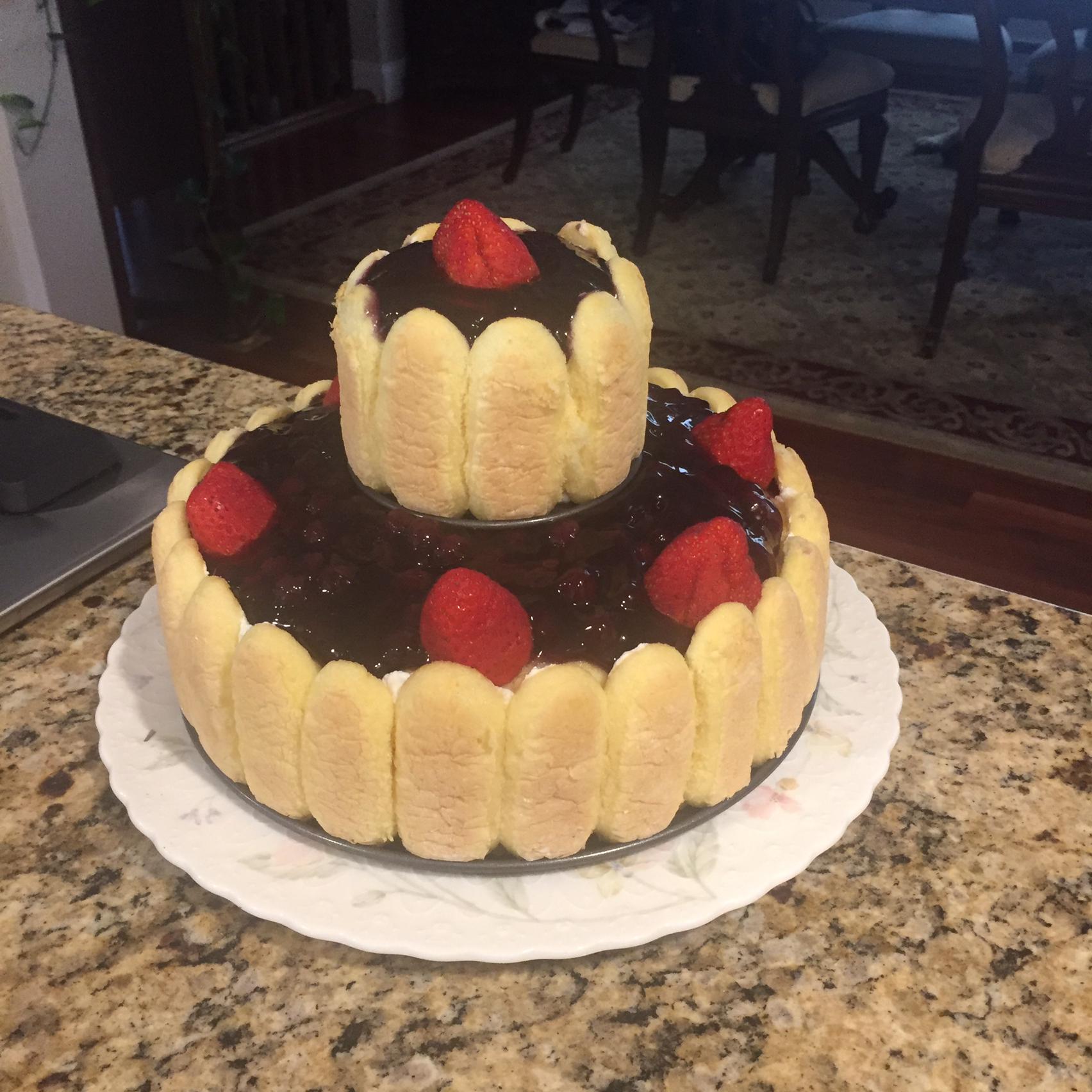 Ladyfinger Cheesecake