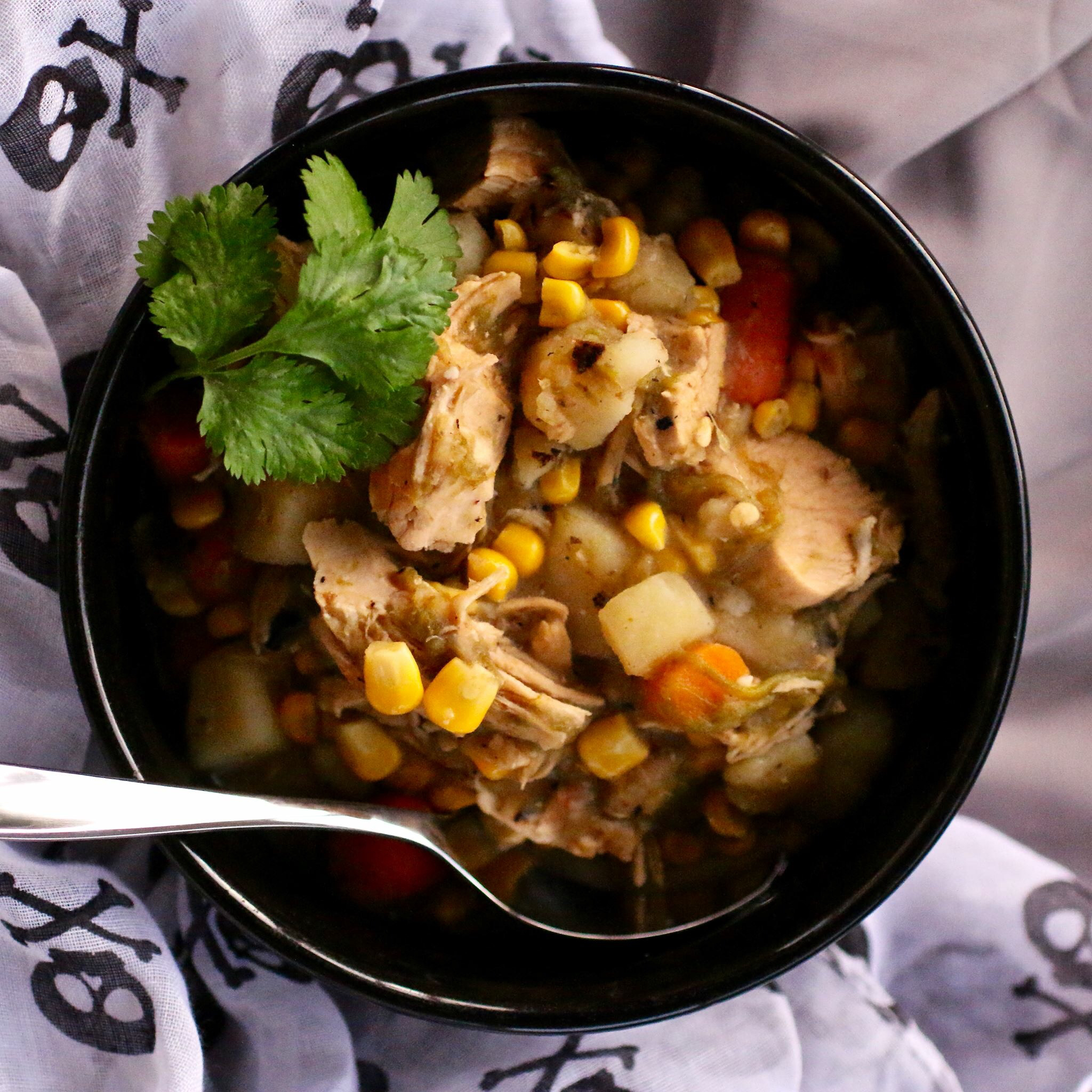 New Mexican Green Chile Chicken Stew