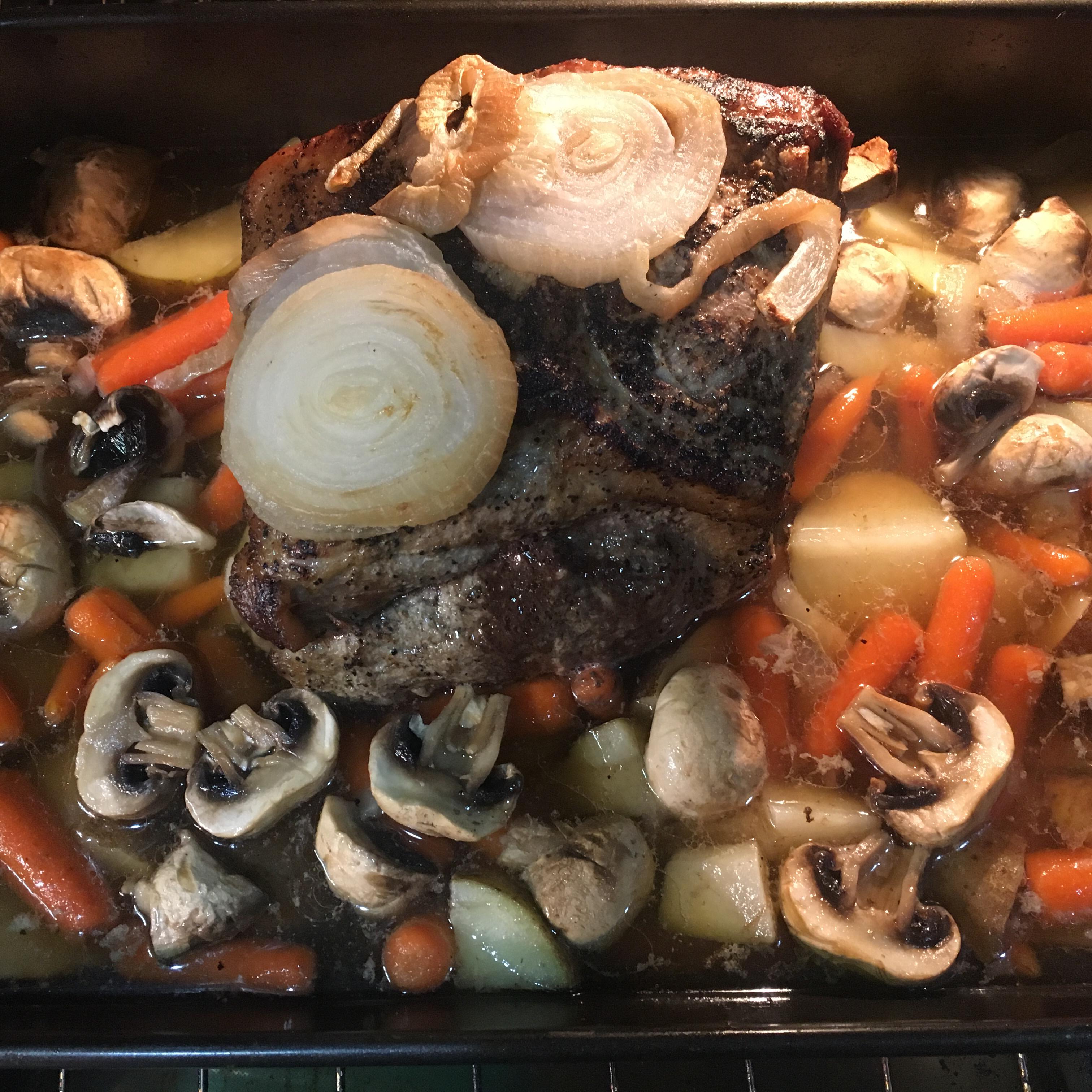 Pork Butt Roast with Vegetables