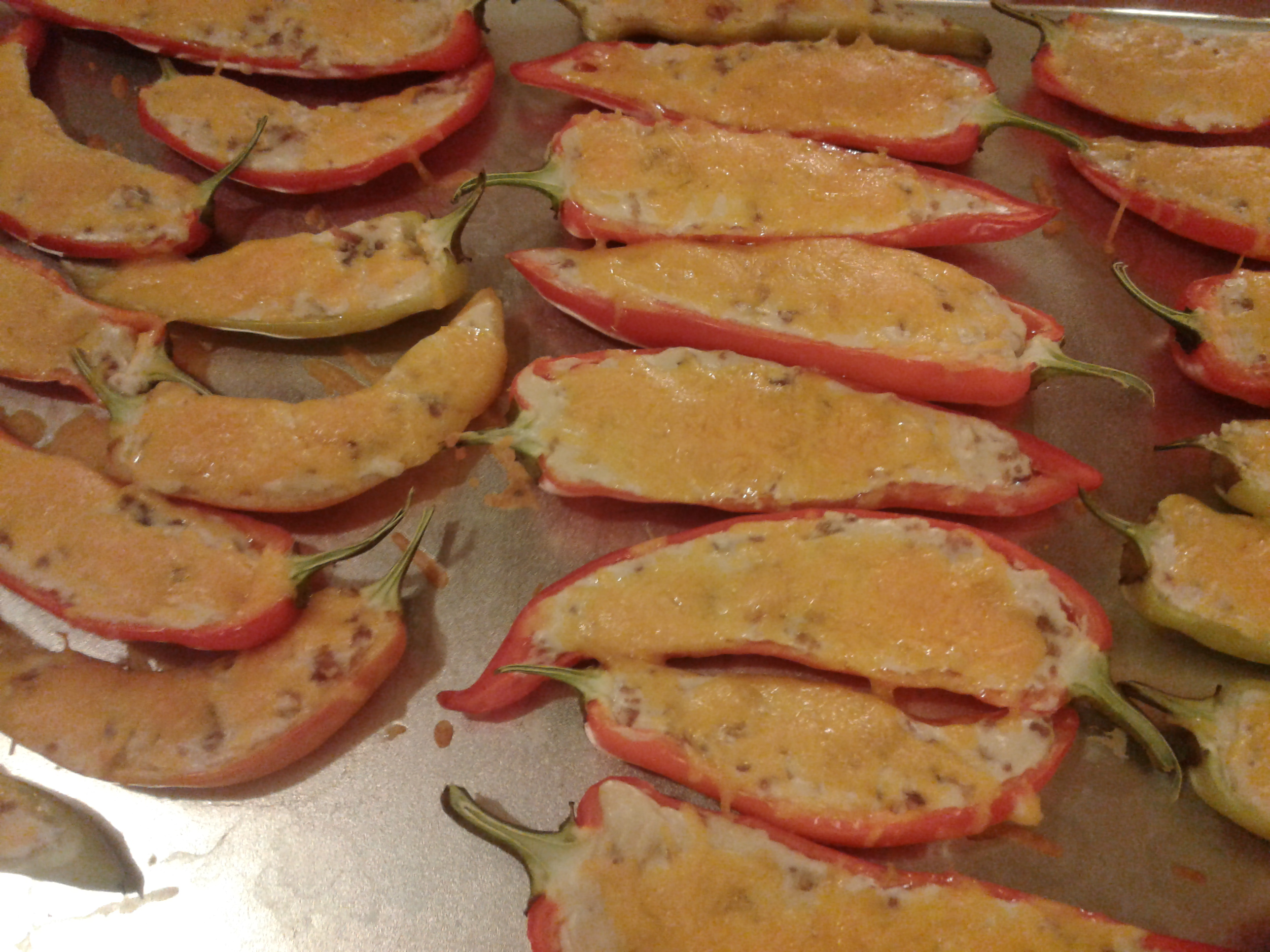 Cheese and Bacon Jalapeno Rellenos Ricky Uselton
