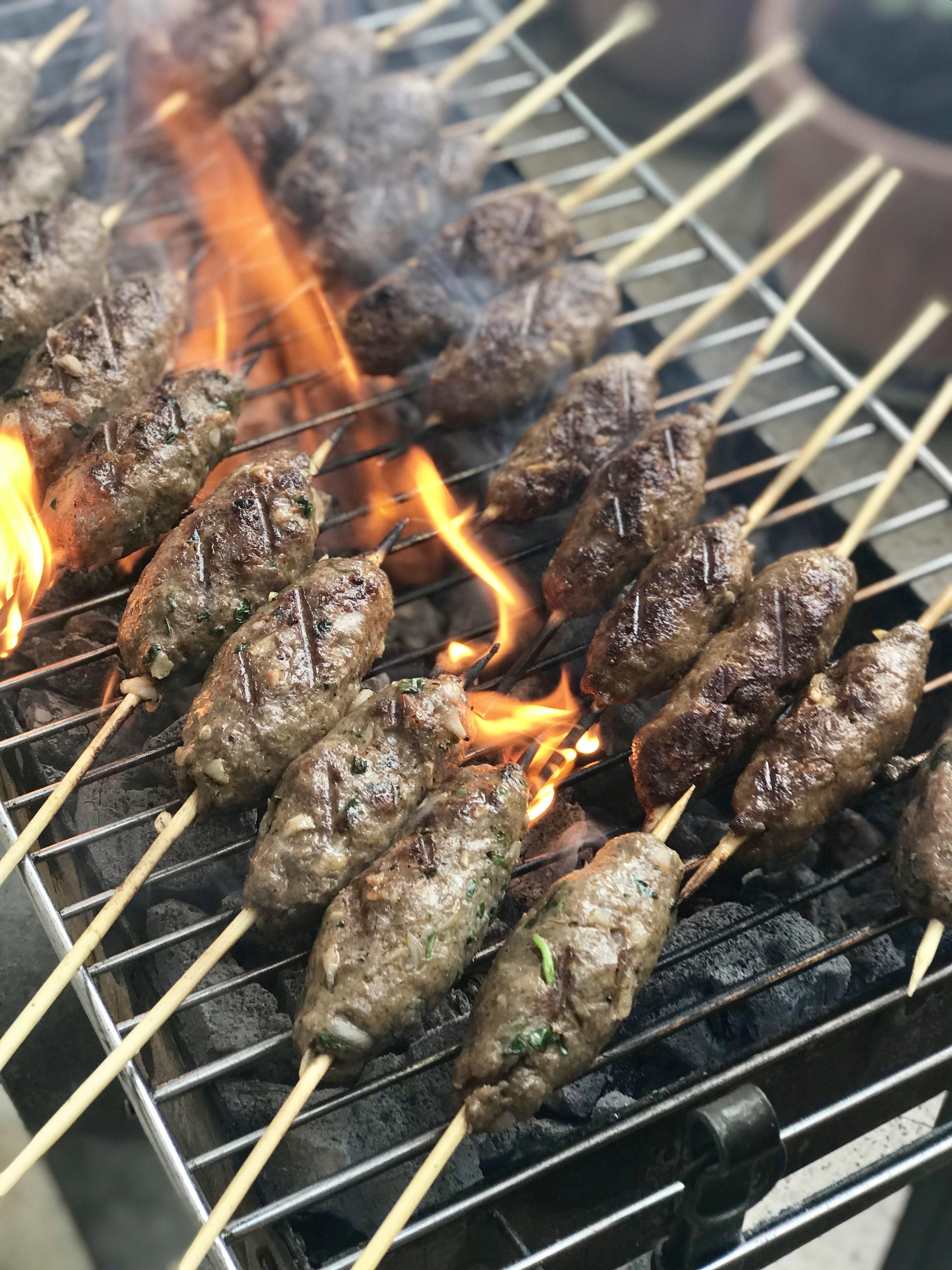 Kofta Kebabs Ghassan Elias