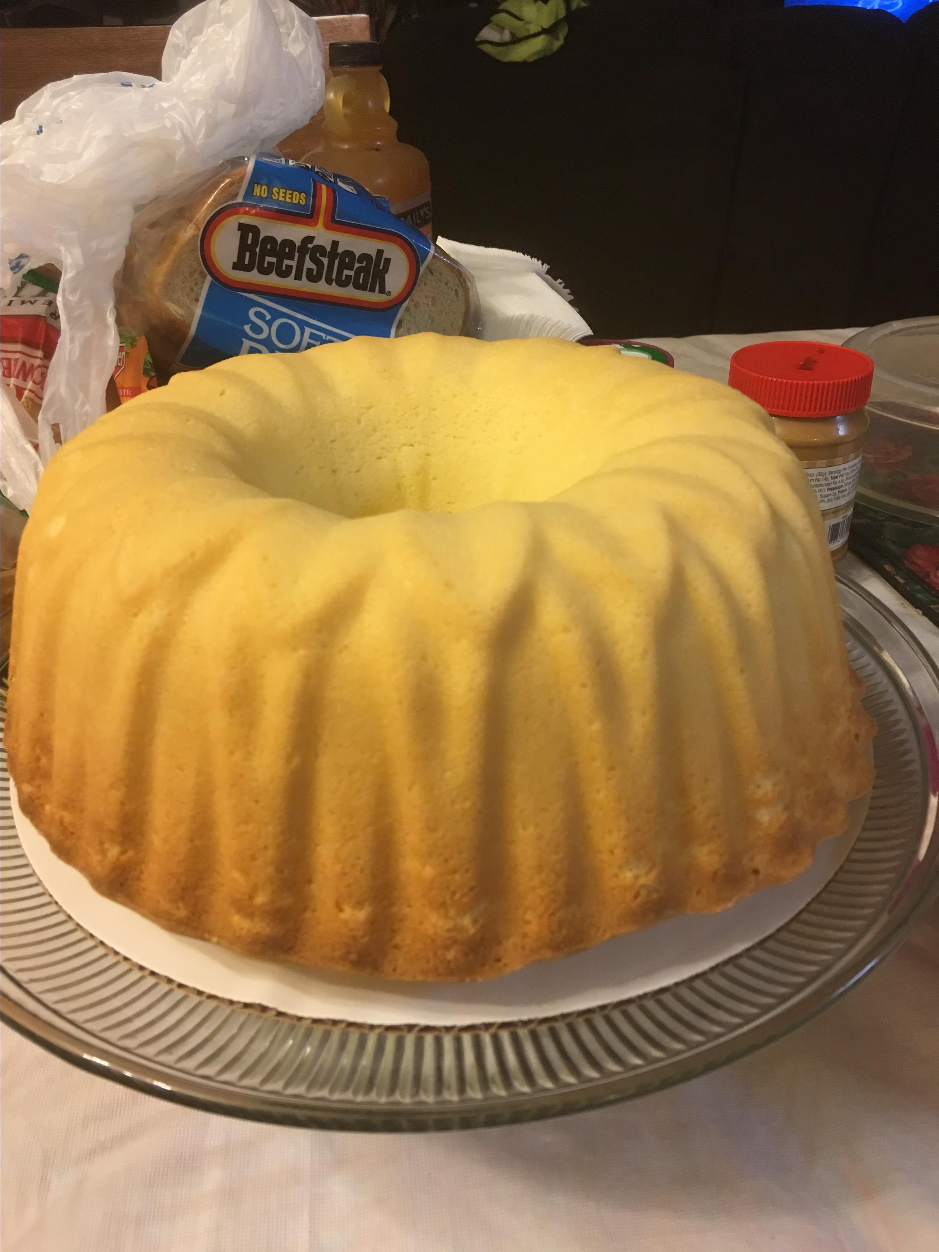Pecan Sour Cream Pound Cake Savanna Calhoun Bryson