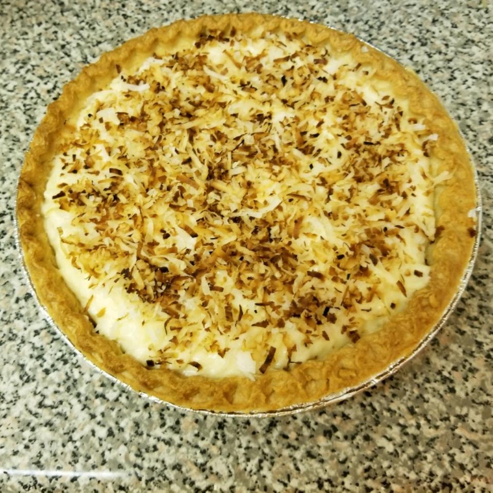 Coconut Cream Pie VIII Ilyse Rose